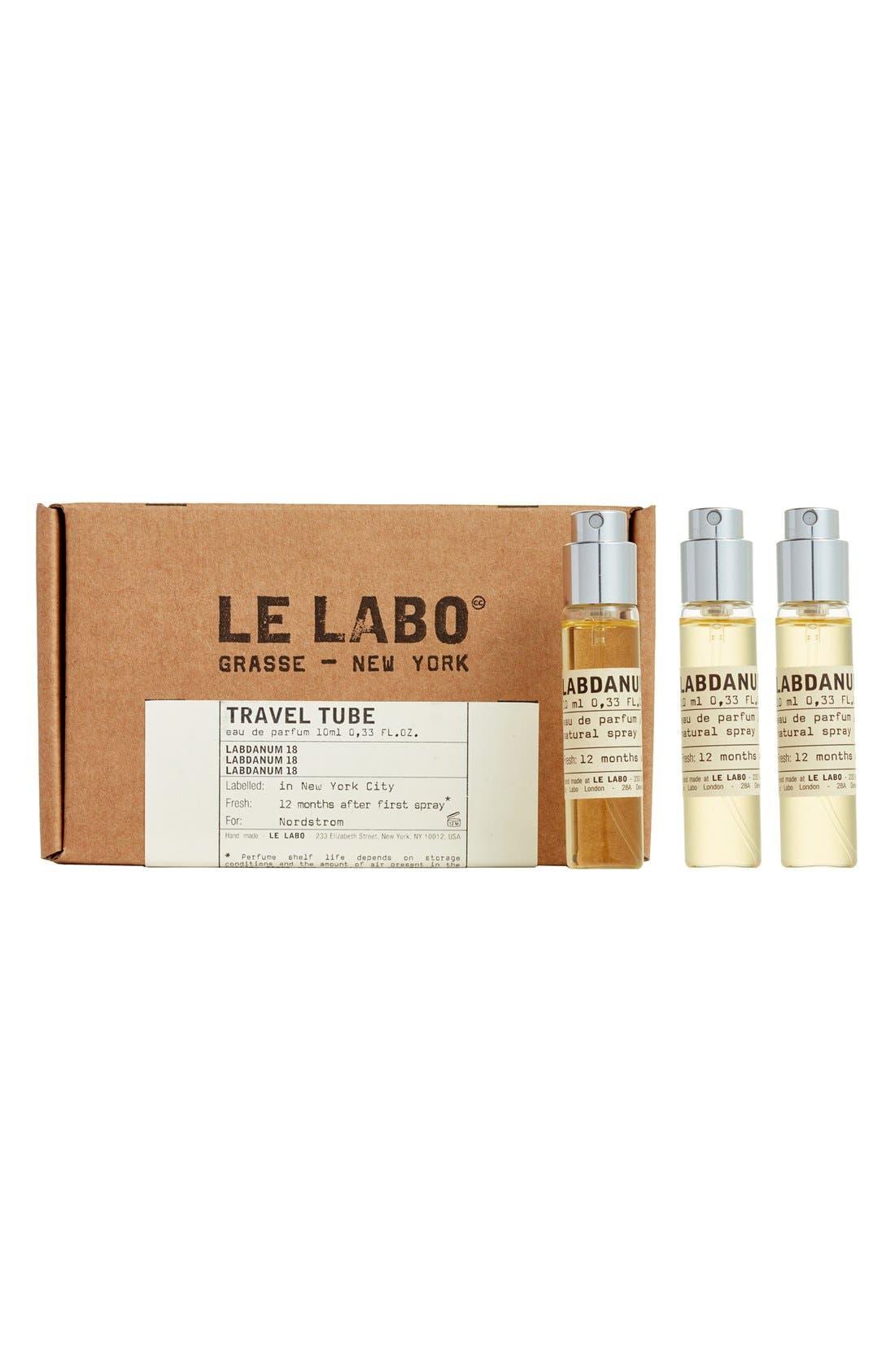 LE LABO,                             'Labdanum 18' Travel Tube Refill,                             Alternate thumbnail 3, color,                             NO COLOR