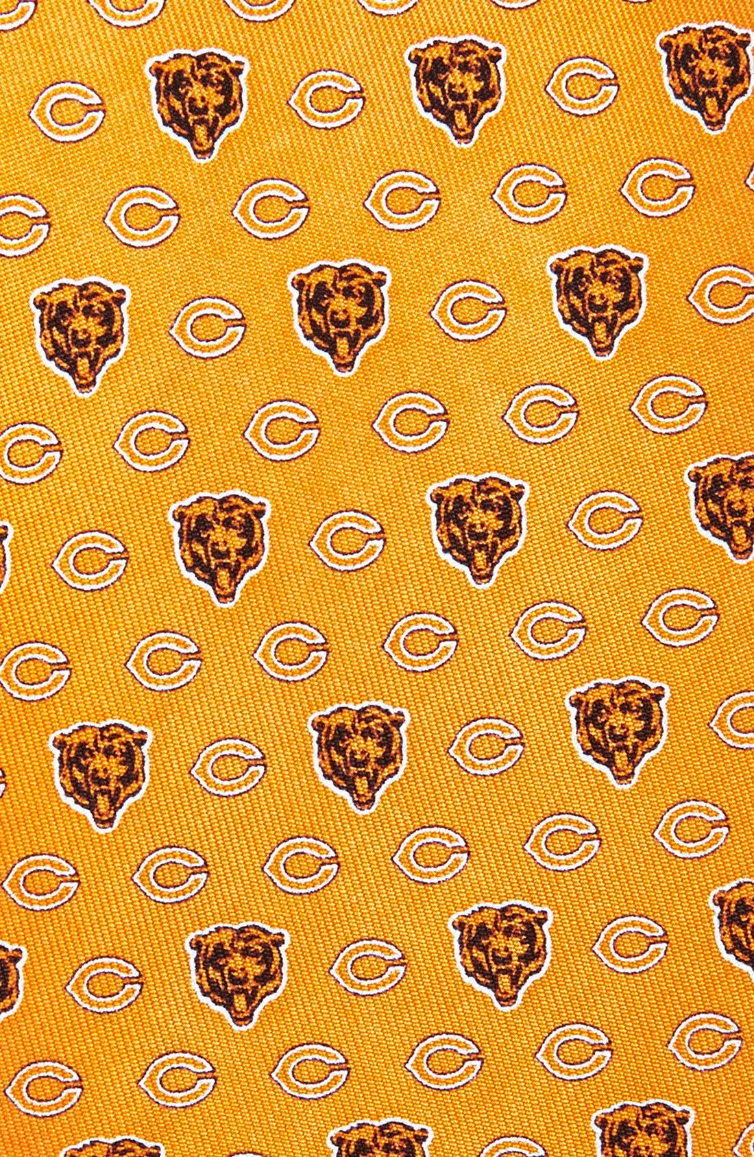 Chicago Bears Print Tie,                             Alternate thumbnail 2, color,                             ORANGE