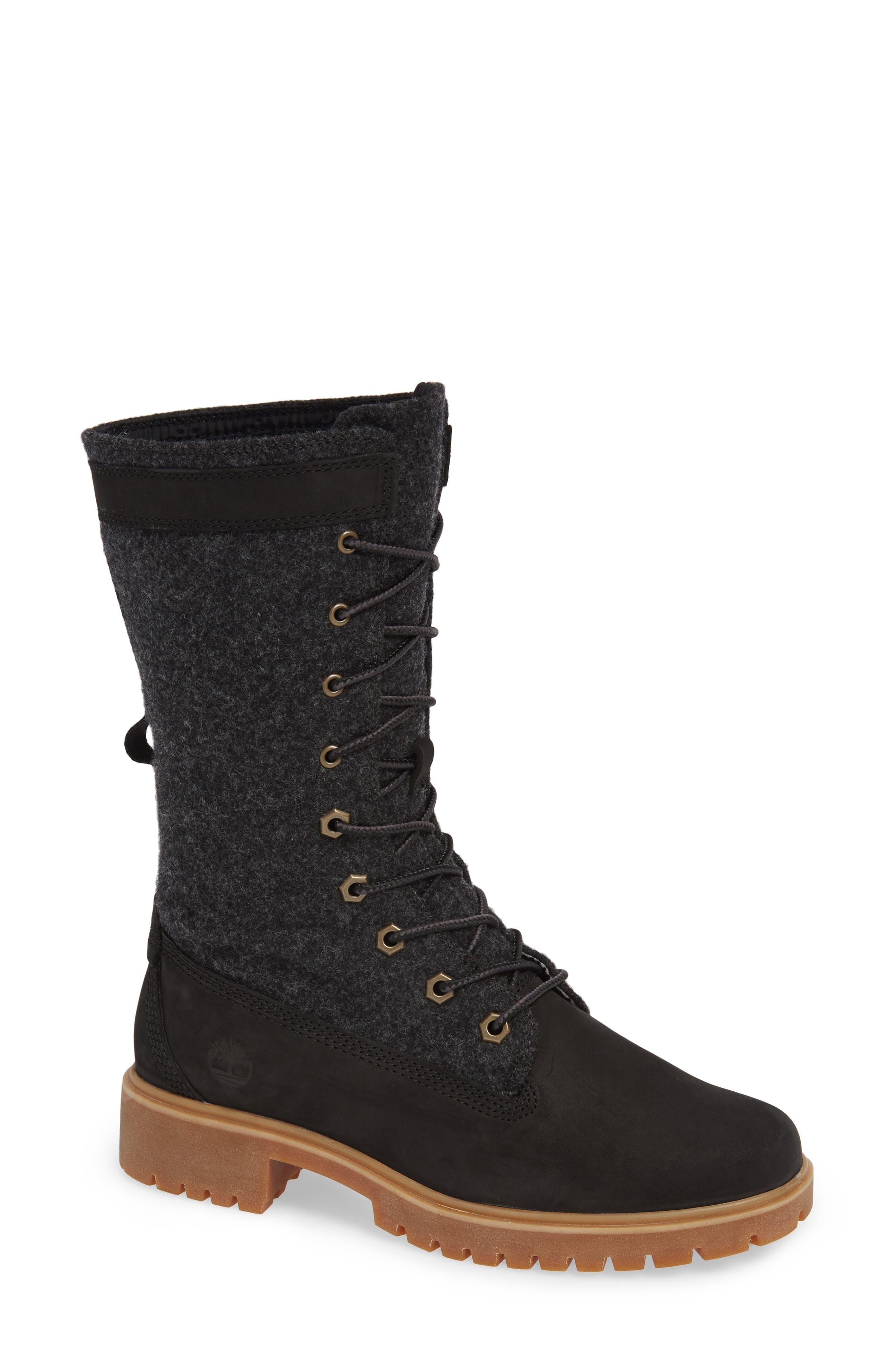 Timberland Jayne Waterproof Gaiter Boot- Grey