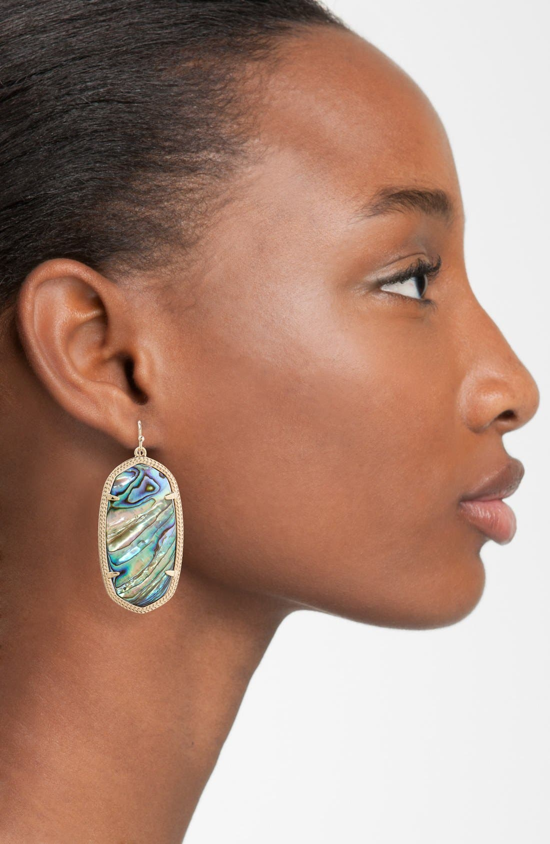 Danielle - Large Oval Statement Earrings,                             Alternate thumbnail 194, color,