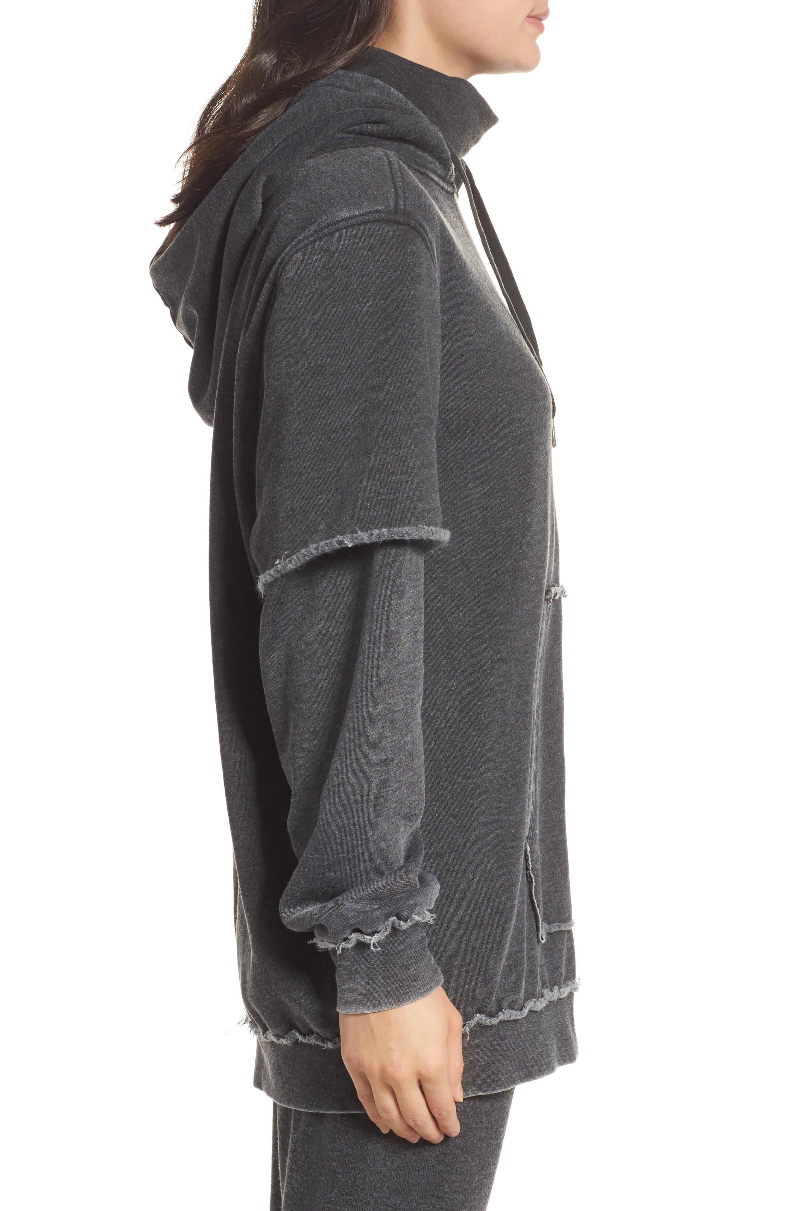 Good Hood Sweatshirt Dress,                             Alternate thumbnail 3, color,                             020