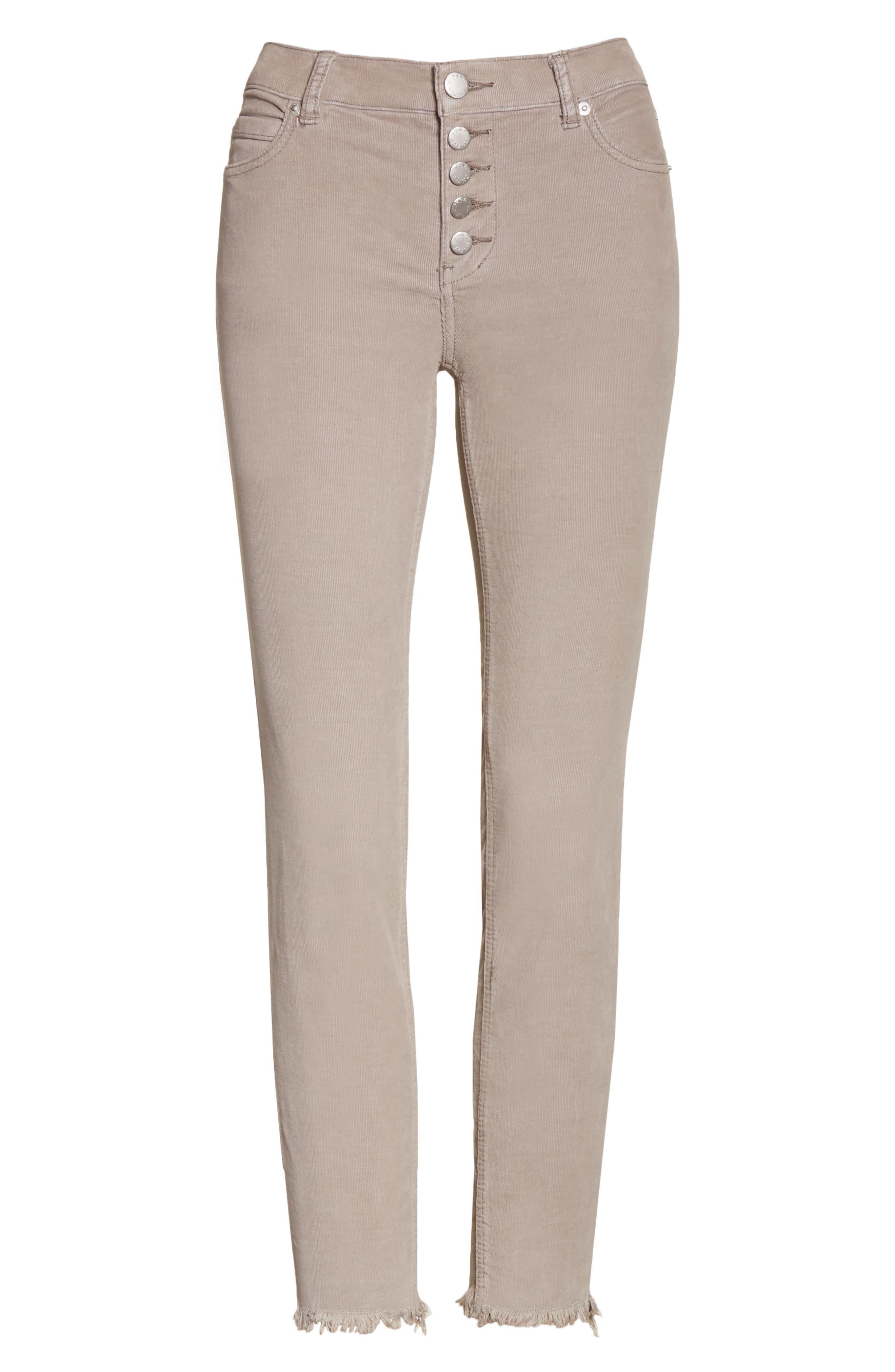 Reagan Crop Skinny Jeans,                             Alternate thumbnail 6, color,                             030