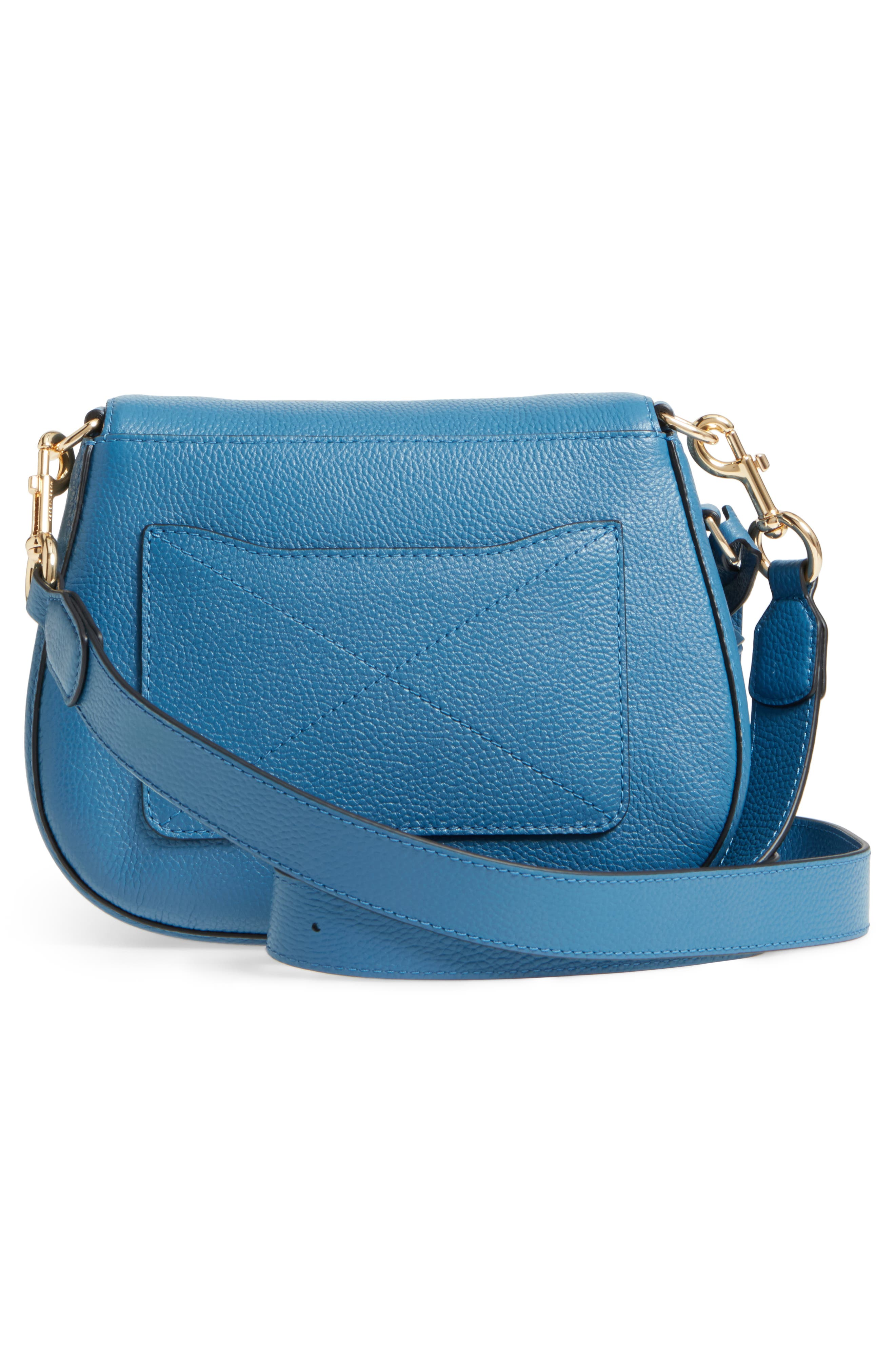 Small Recruit Nomad Pebbled Leather Crossbody Bag,                             Alternate thumbnail 29, color,