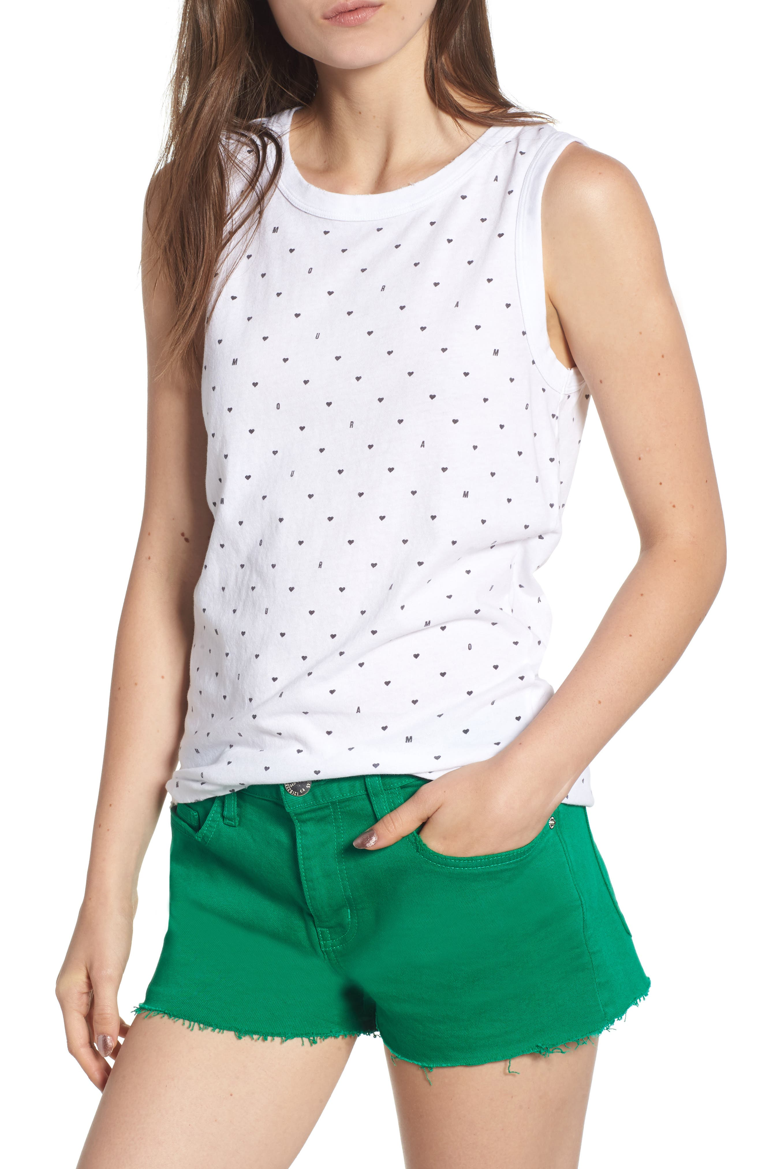 The Easy Muscle Tank,                         Main,                         color, 110