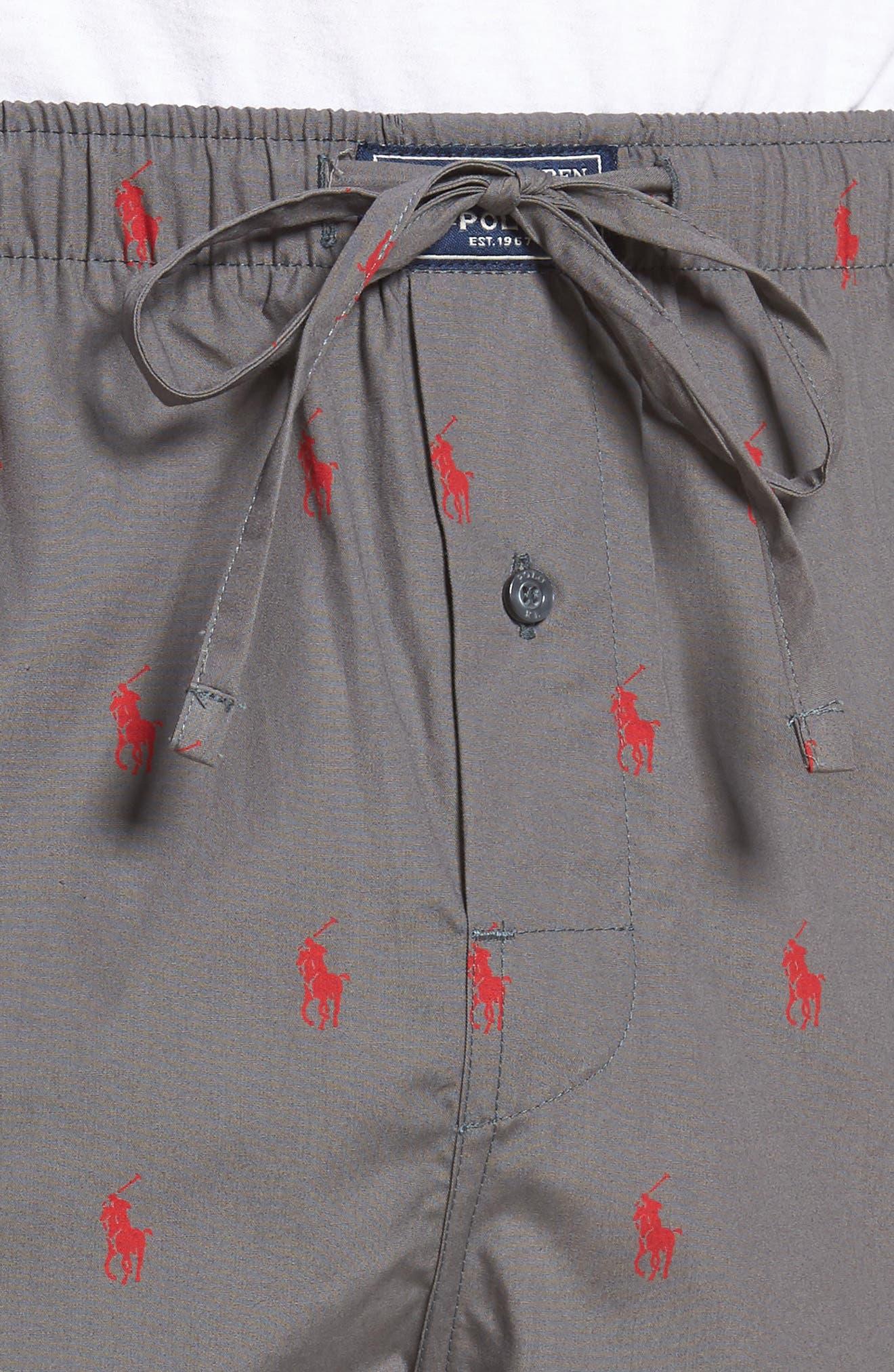 Cotton Lounge Pants,                             Alternate thumbnail 44, color,