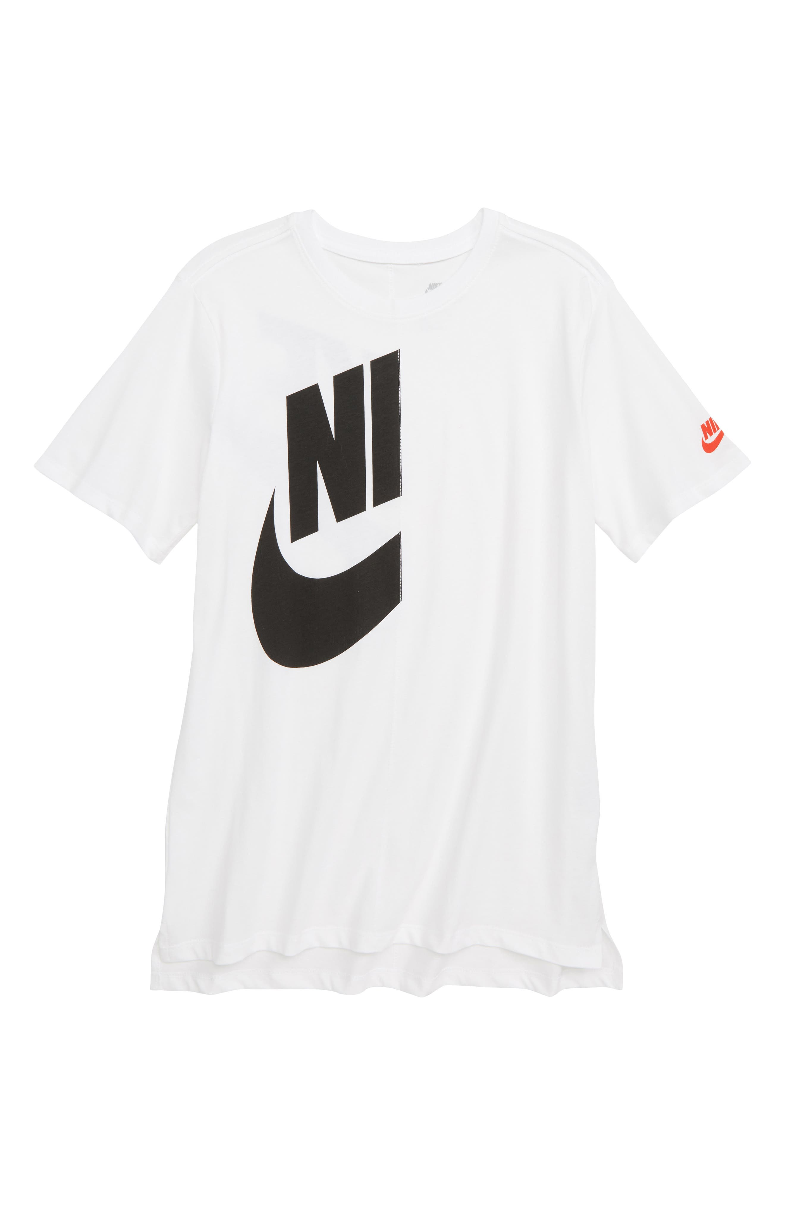 Sportswear Future Graphic Tee,                         Main,                         color, WHITE