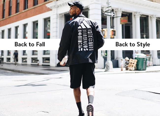 Back to fall, back to style with adidas.