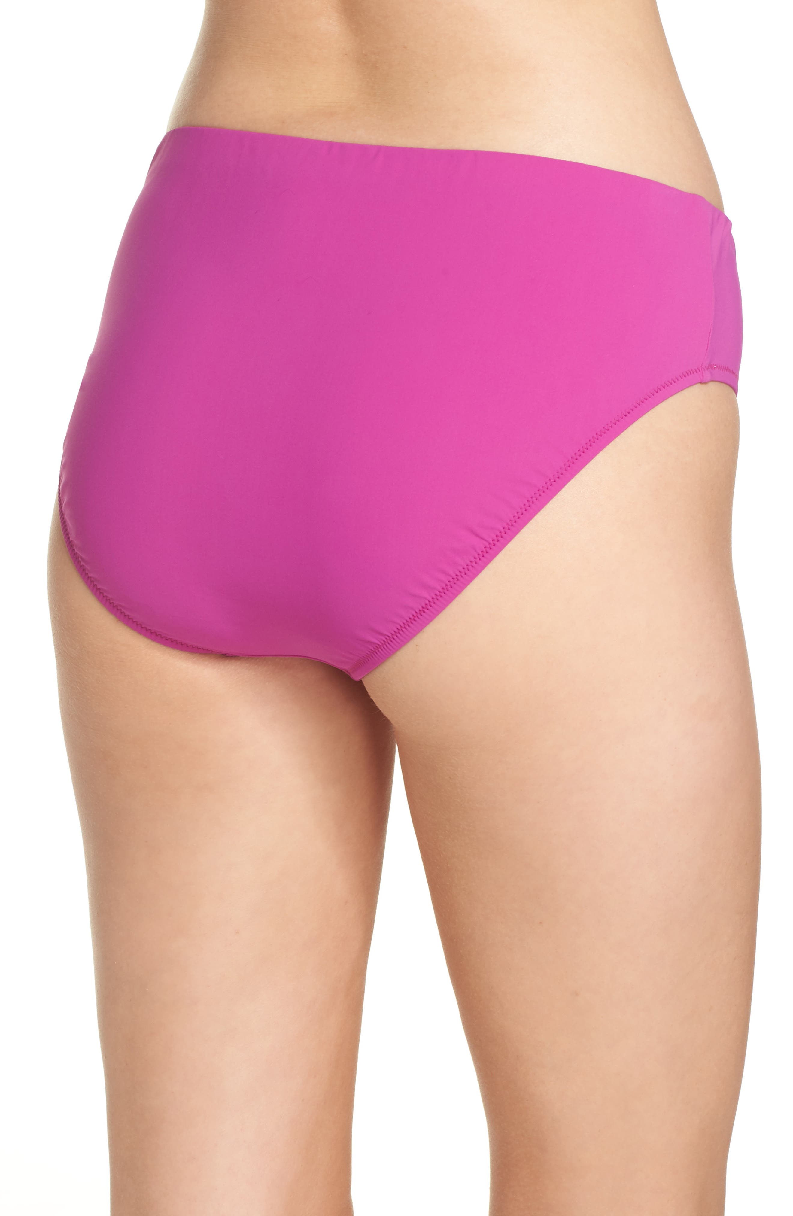 Bikini Bottoms,                             Alternate thumbnail 2, color,                             WARM VIOLA