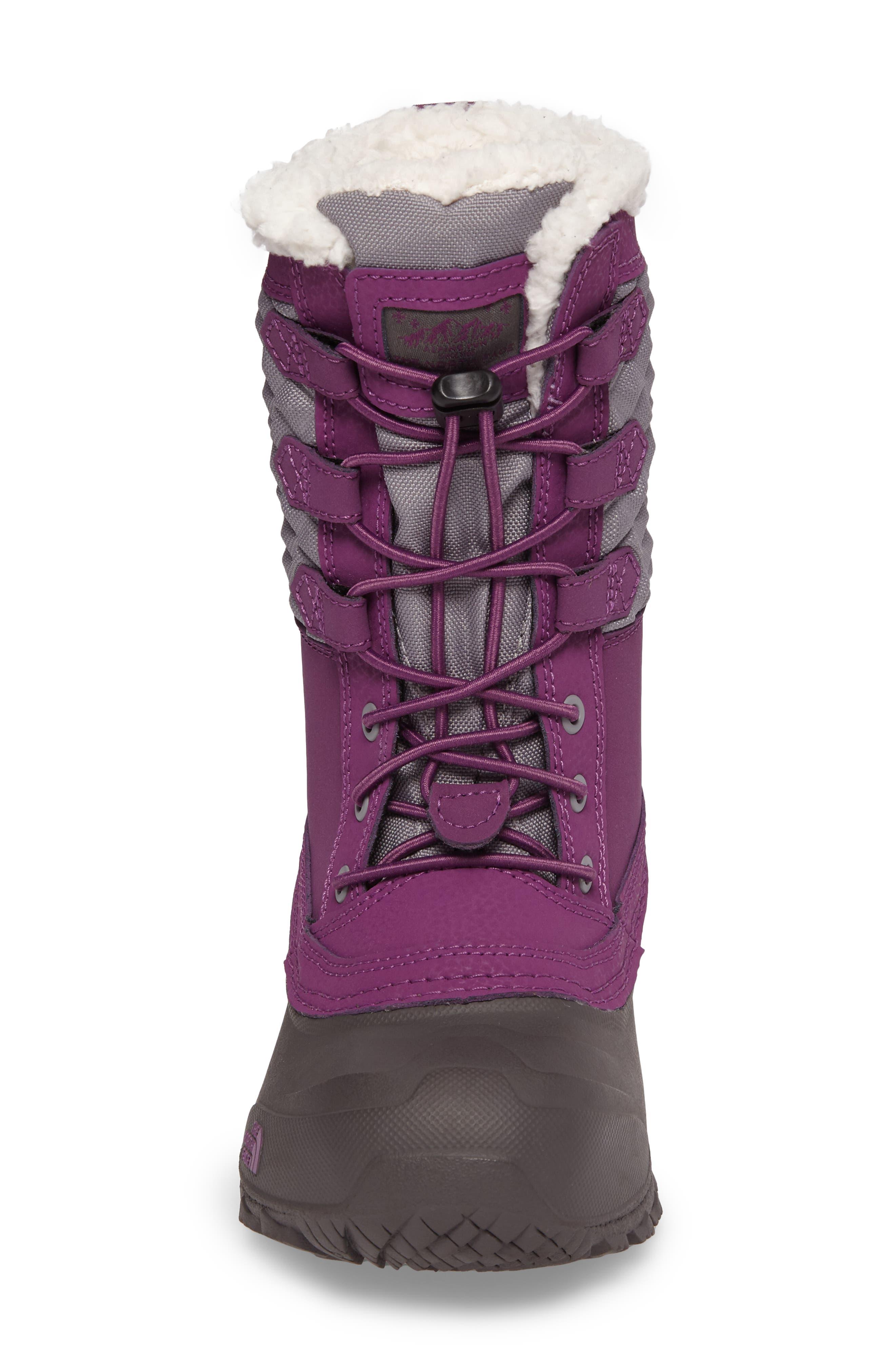 Shellista Lace III Faux Fur Waterproof Boot,                             Alternate thumbnail 12, color,