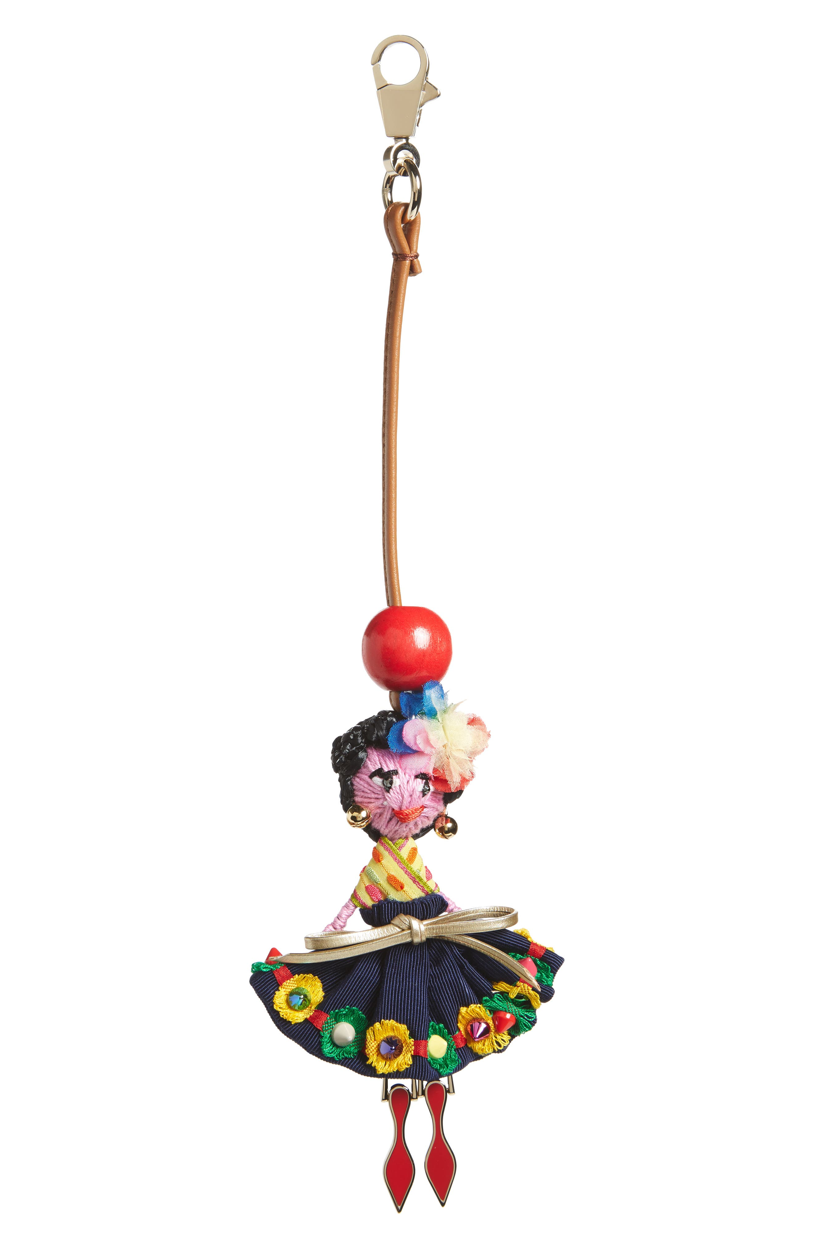 Mexiloubi Doll Bag Charm,                             Main thumbnail 1, color,