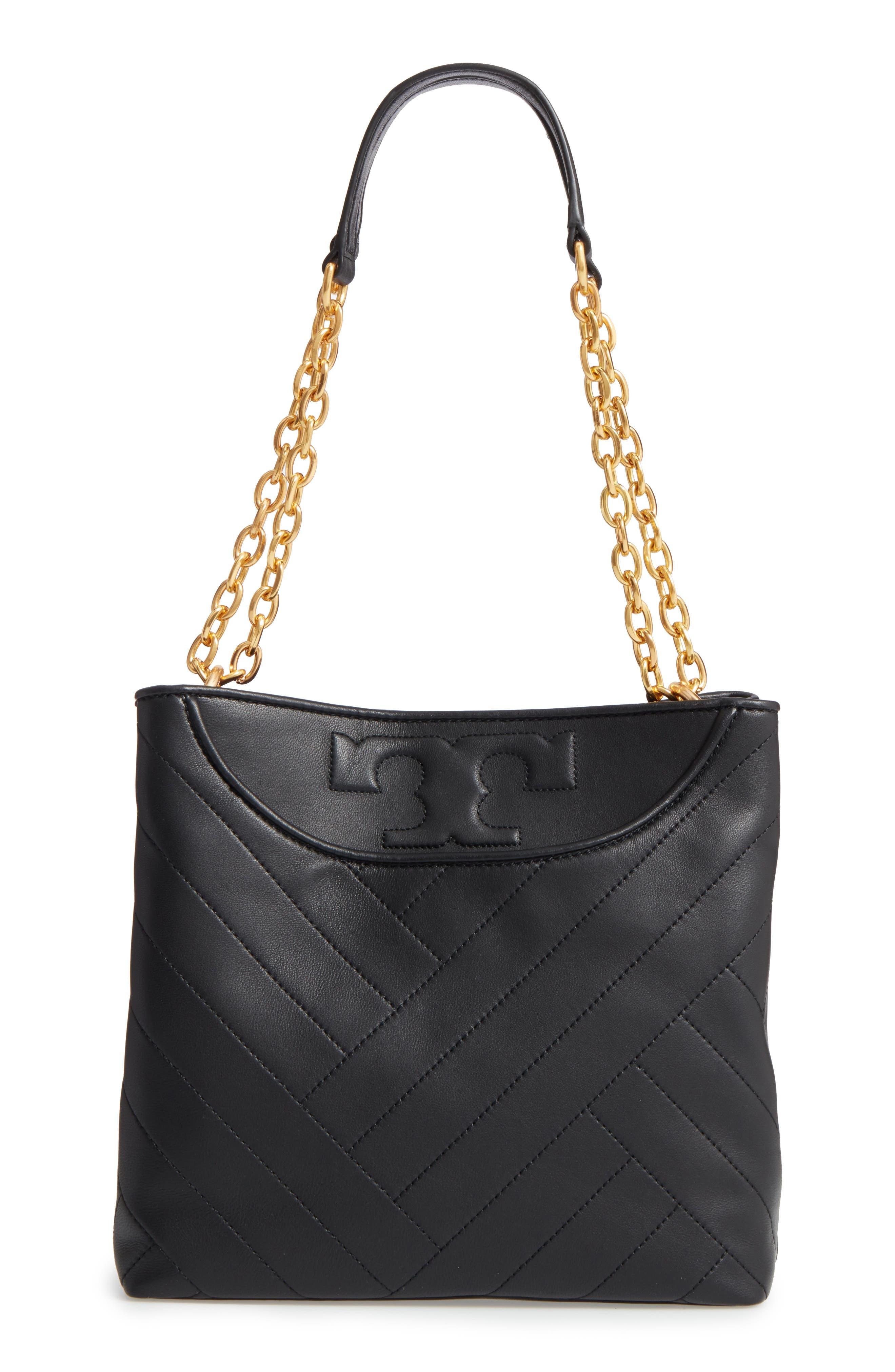 Small Alexa Leather Tote,                         Main,                         color,