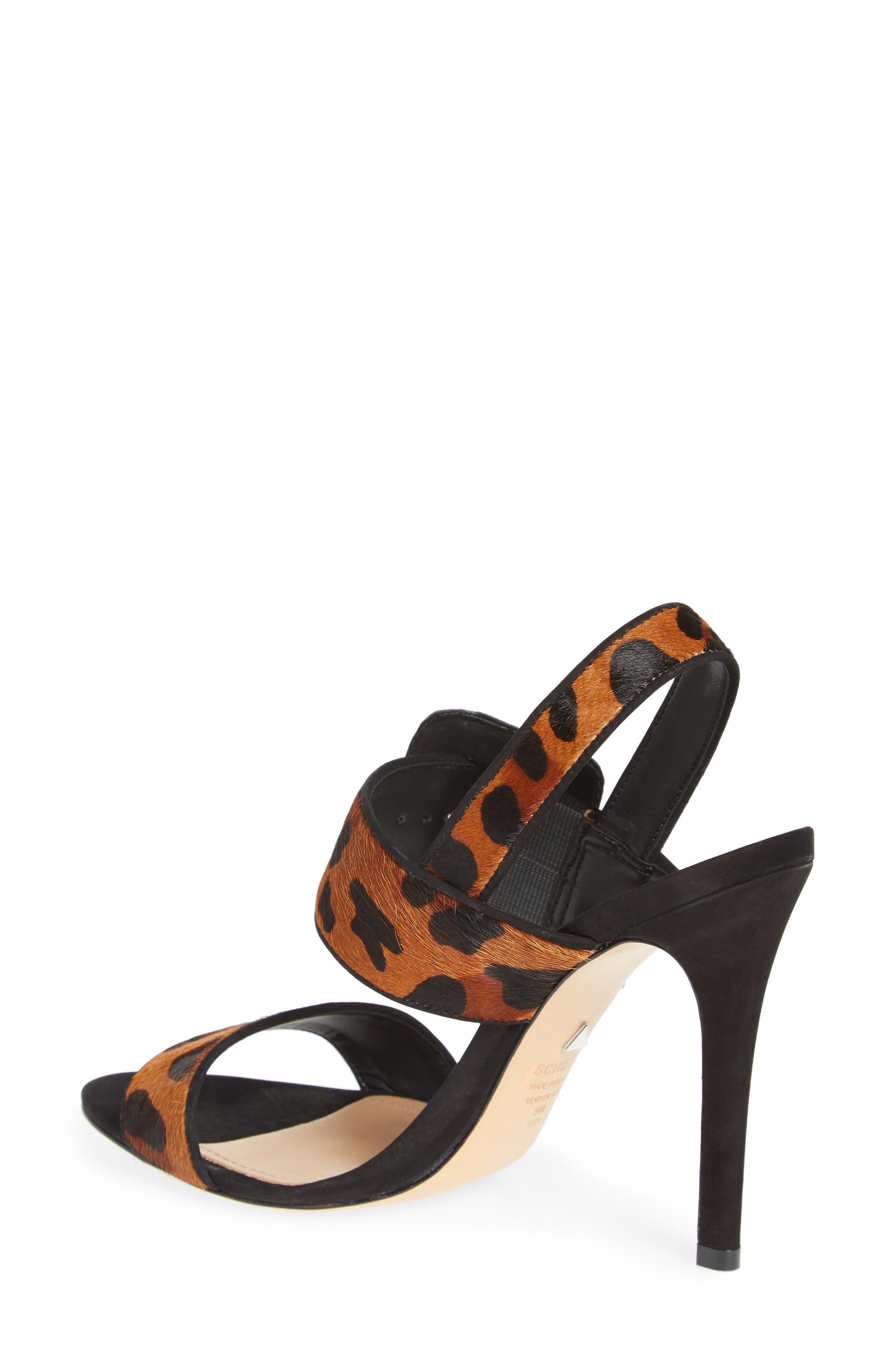 Lucci Genuine Calf Hair Sandal,                             Alternate thumbnail 2, color,                             NATURAL/ BLACK