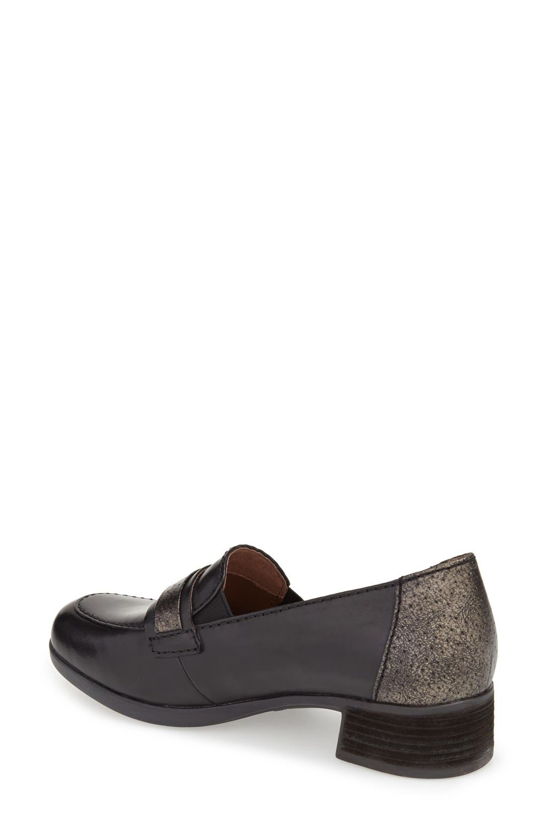 'Lila' Loafer,                             Alternate thumbnail 2, color,                             001