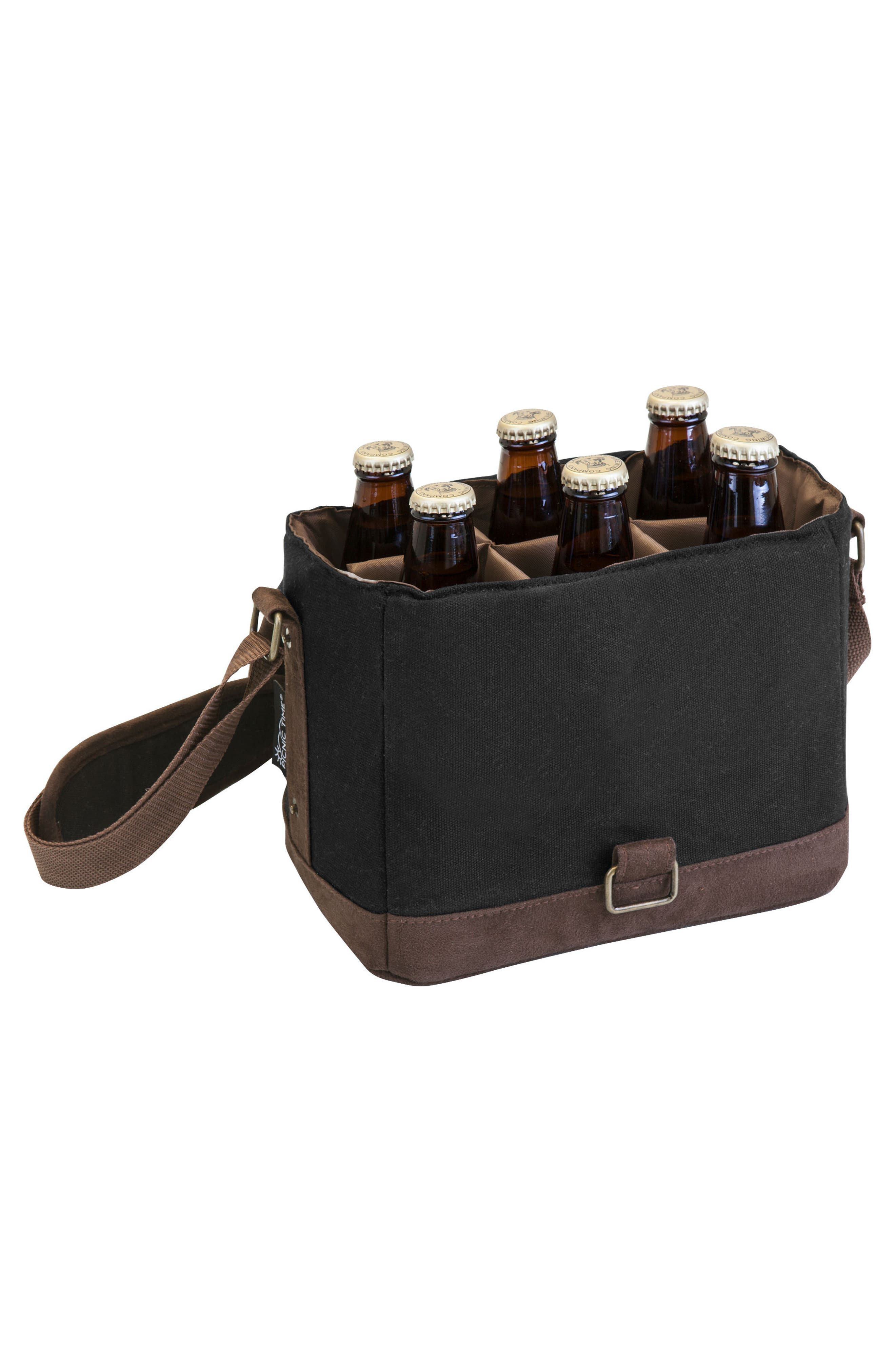 Beer Caddy Cooler Tote,                             Alternate thumbnail 2, color,                             001