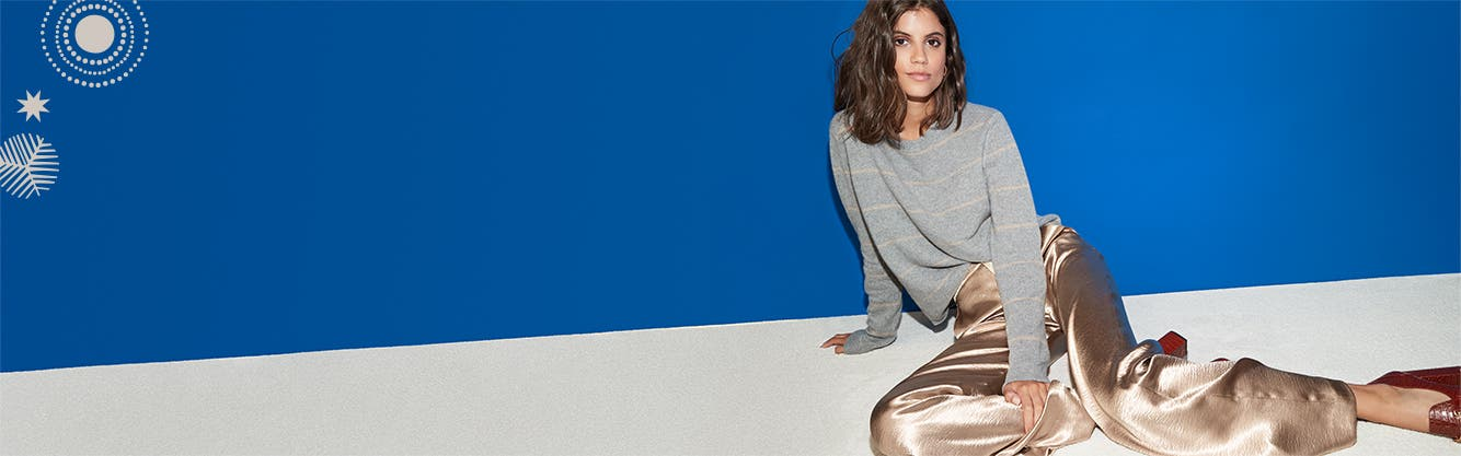 Cozy for all: women's sweaters.