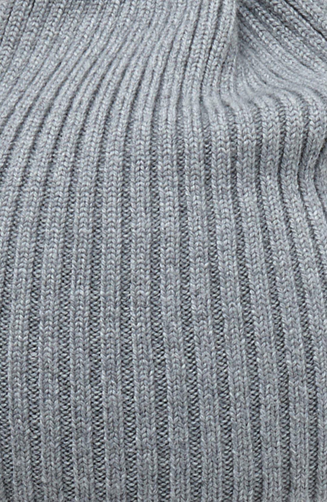 Rib Knit Wool Beanie,                             Alternate thumbnail 15, color,