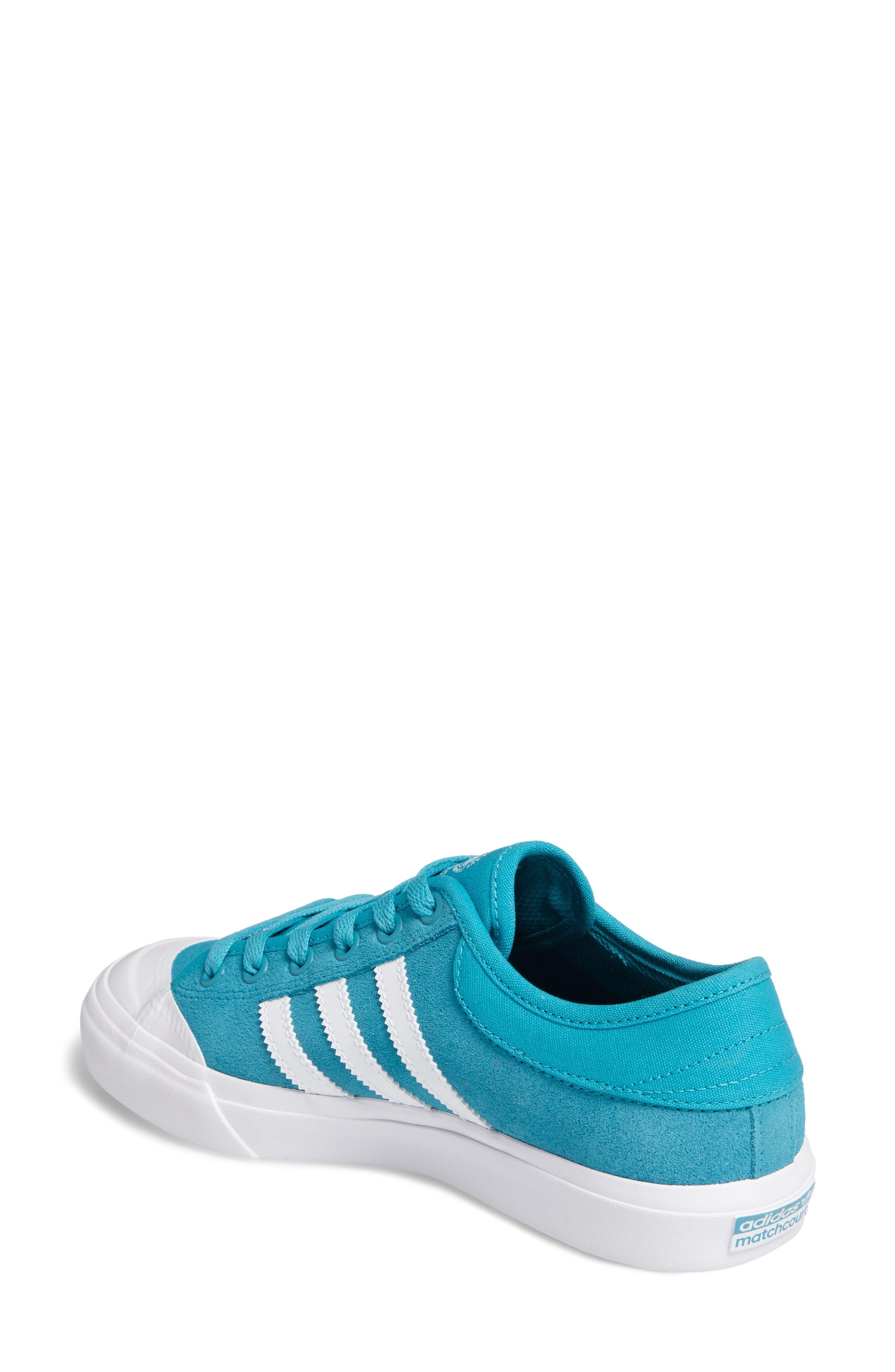 ADIDAS,                             Matchcourt Mid High Sneaker,                             Alternate thumbnail 2, color,                             400