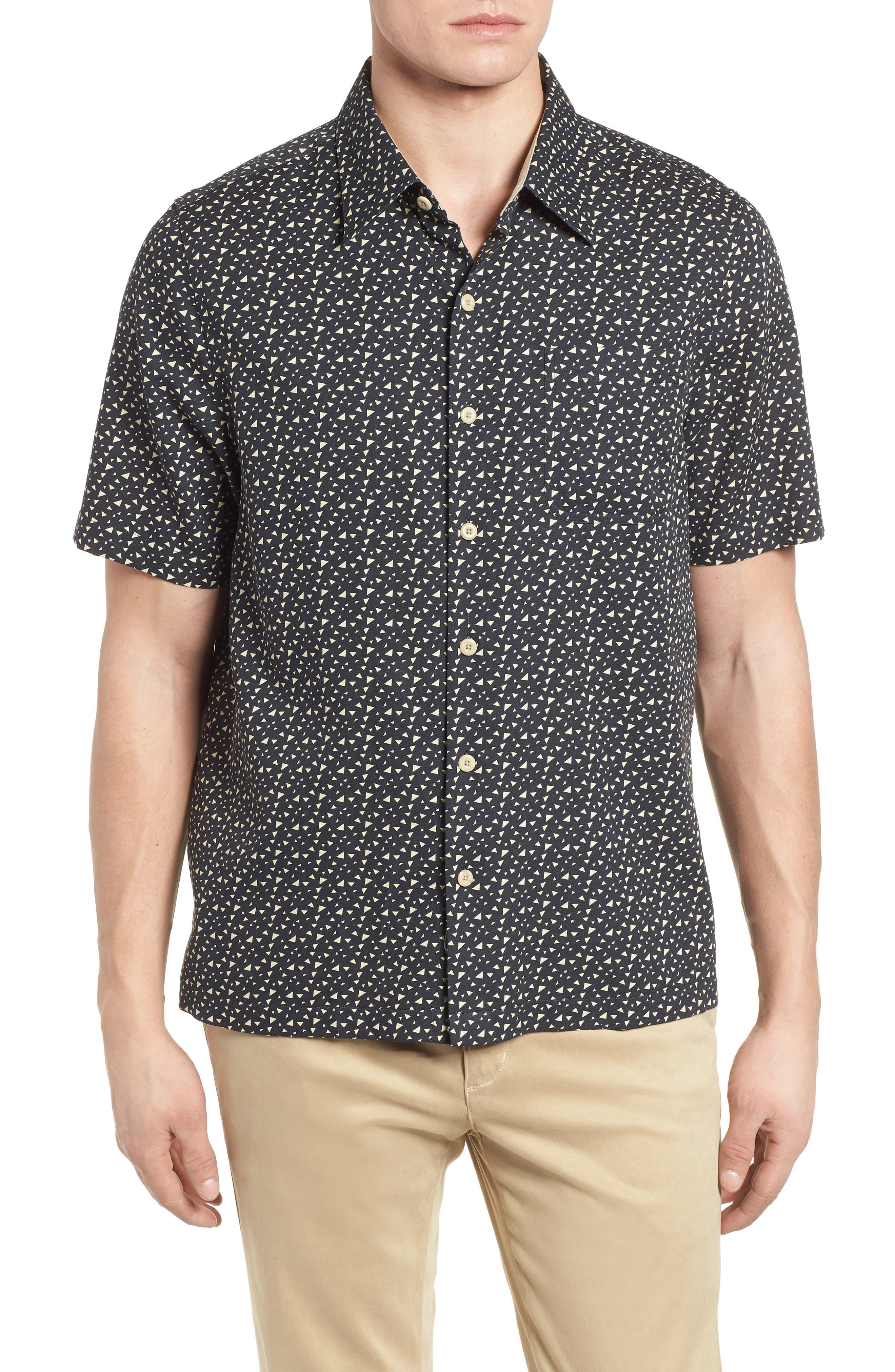 NAT NAST,                             Bermuda Triangle Camp Shirt,                             Main thumbnail 1, color,                             001