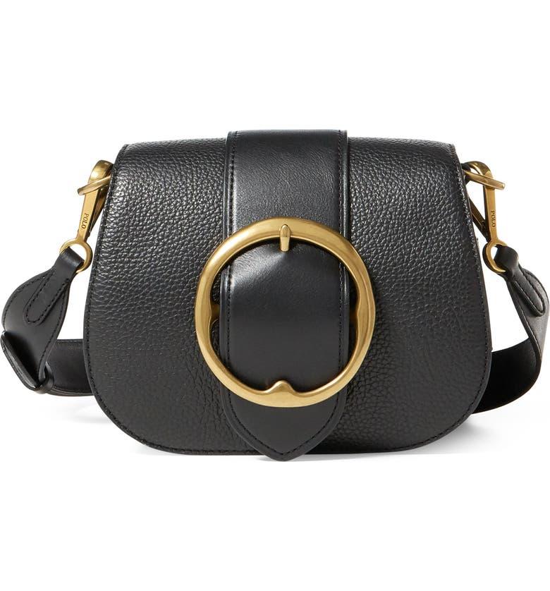 07153381db48 Polo Ralph Lauren Lennox Leather Saddle Bag
