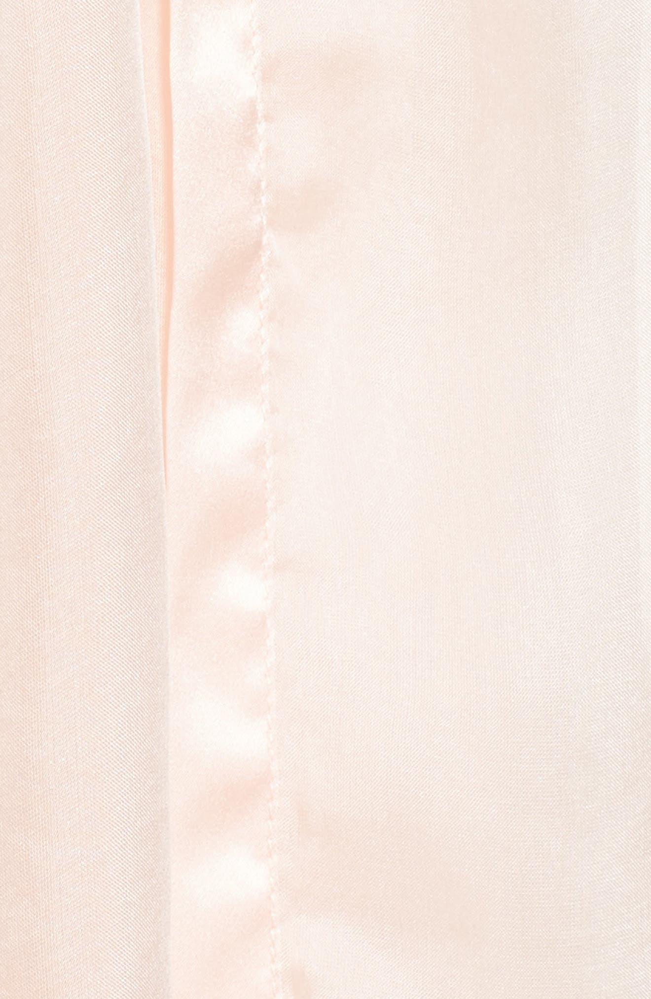 Satin Border Silk Wrap,                             Alternate thumbnail 49, color,