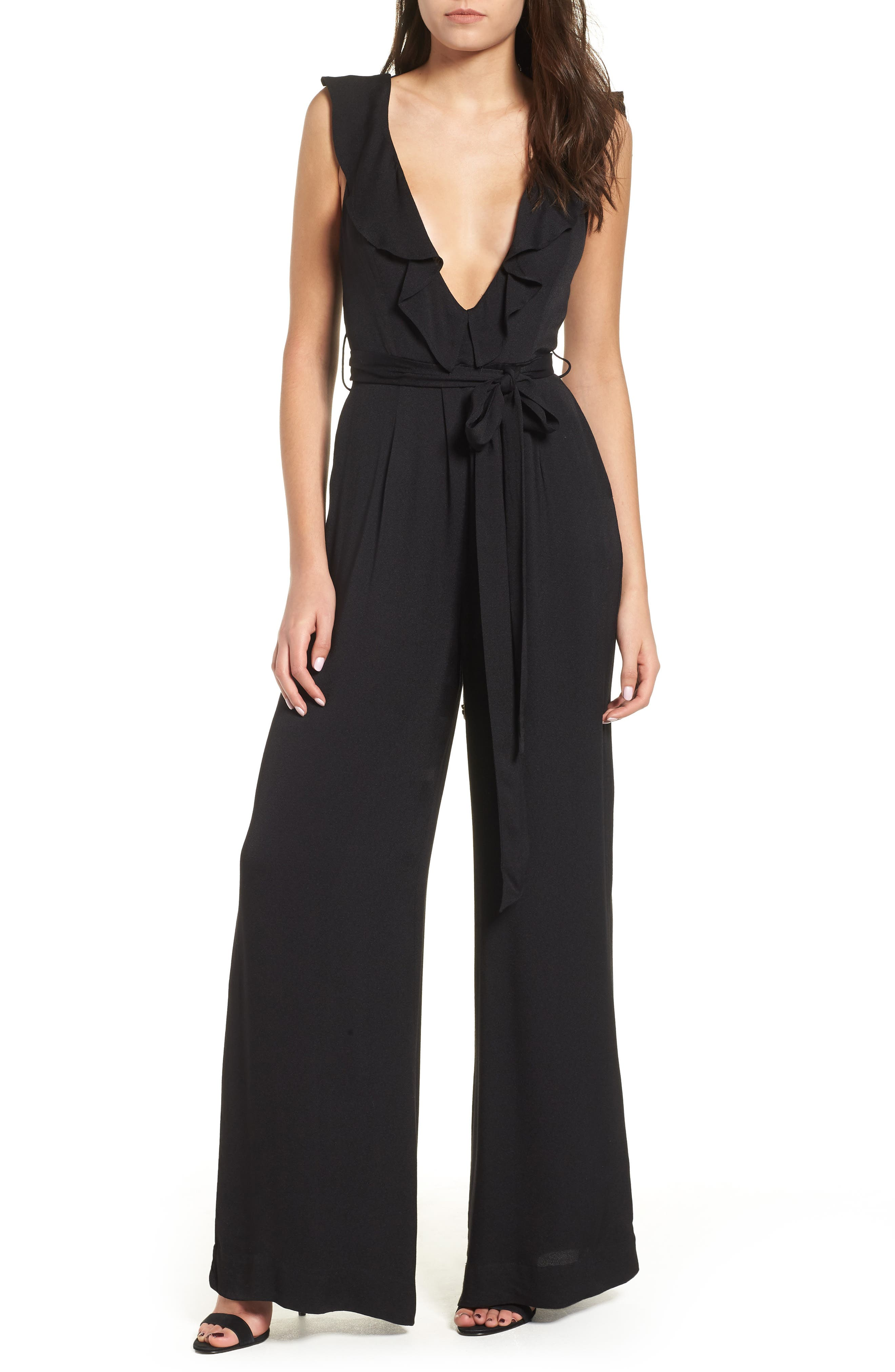 Evelyn Jumpsuit,                         Main,                         color, 001