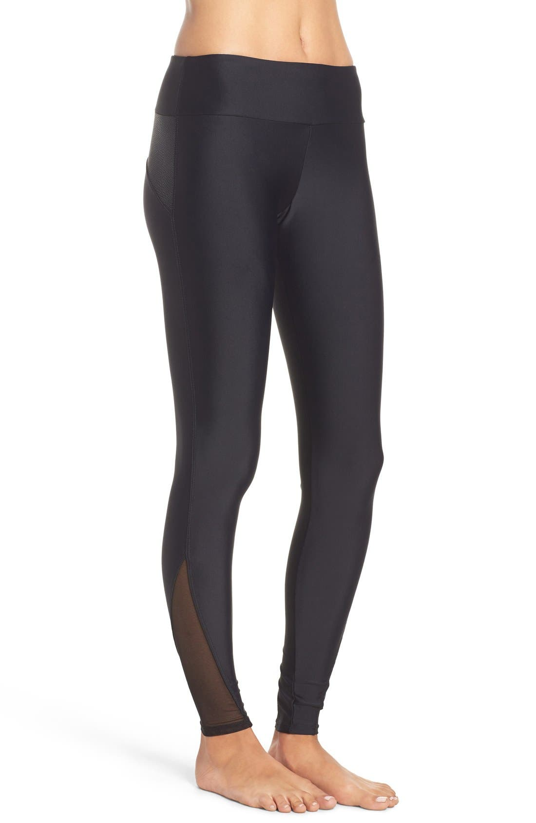 Shaper Leggings,                             Alternate thumbnail 9, color,                             001