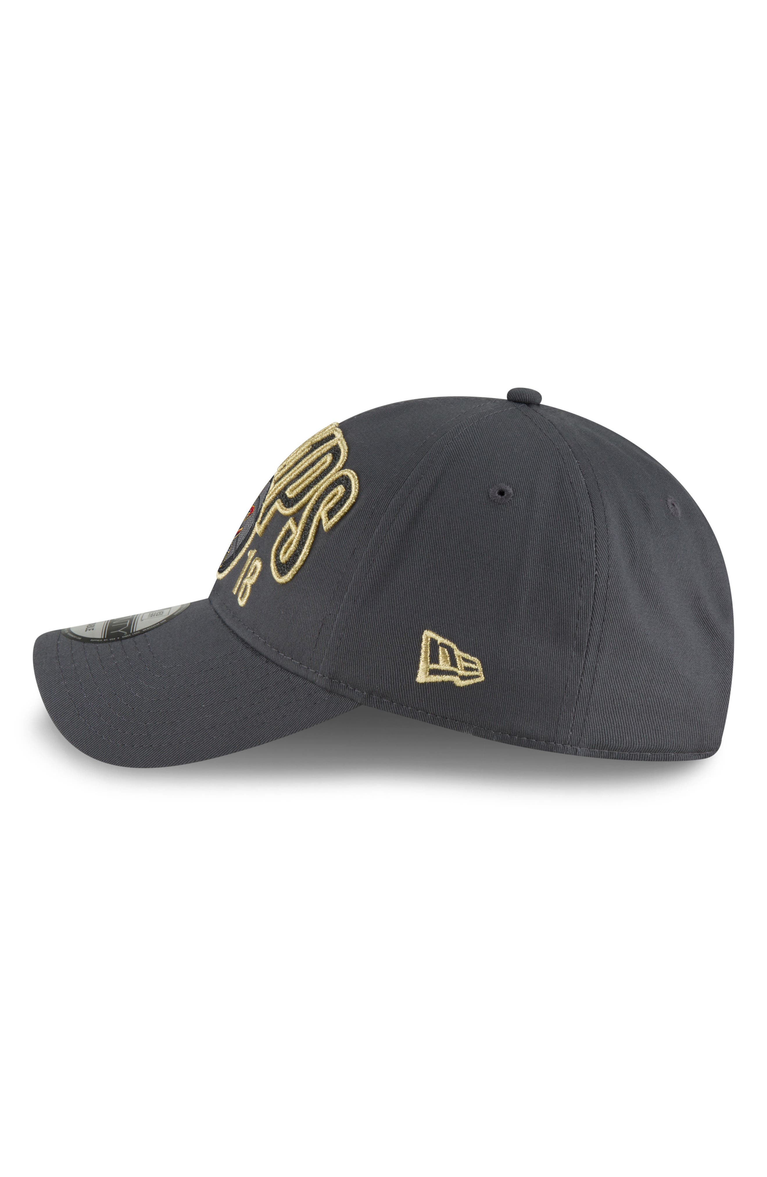2018 NBA Champions - Golden State Warriors 9Twenty Baseball Cap,                             Alternate thumbnail 4, color,                             020