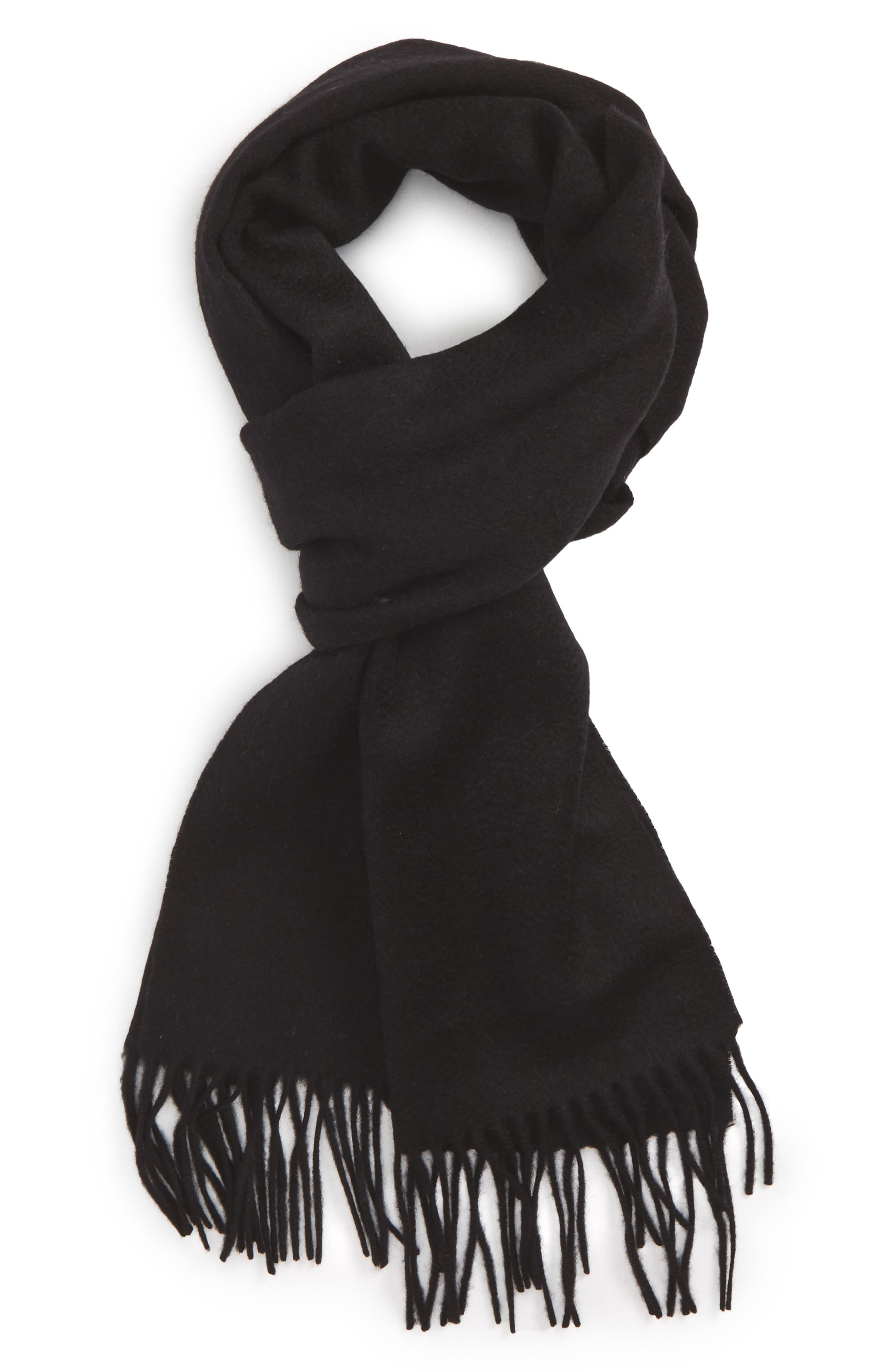 Lambswool Scarf,                         Main,                         color, 001