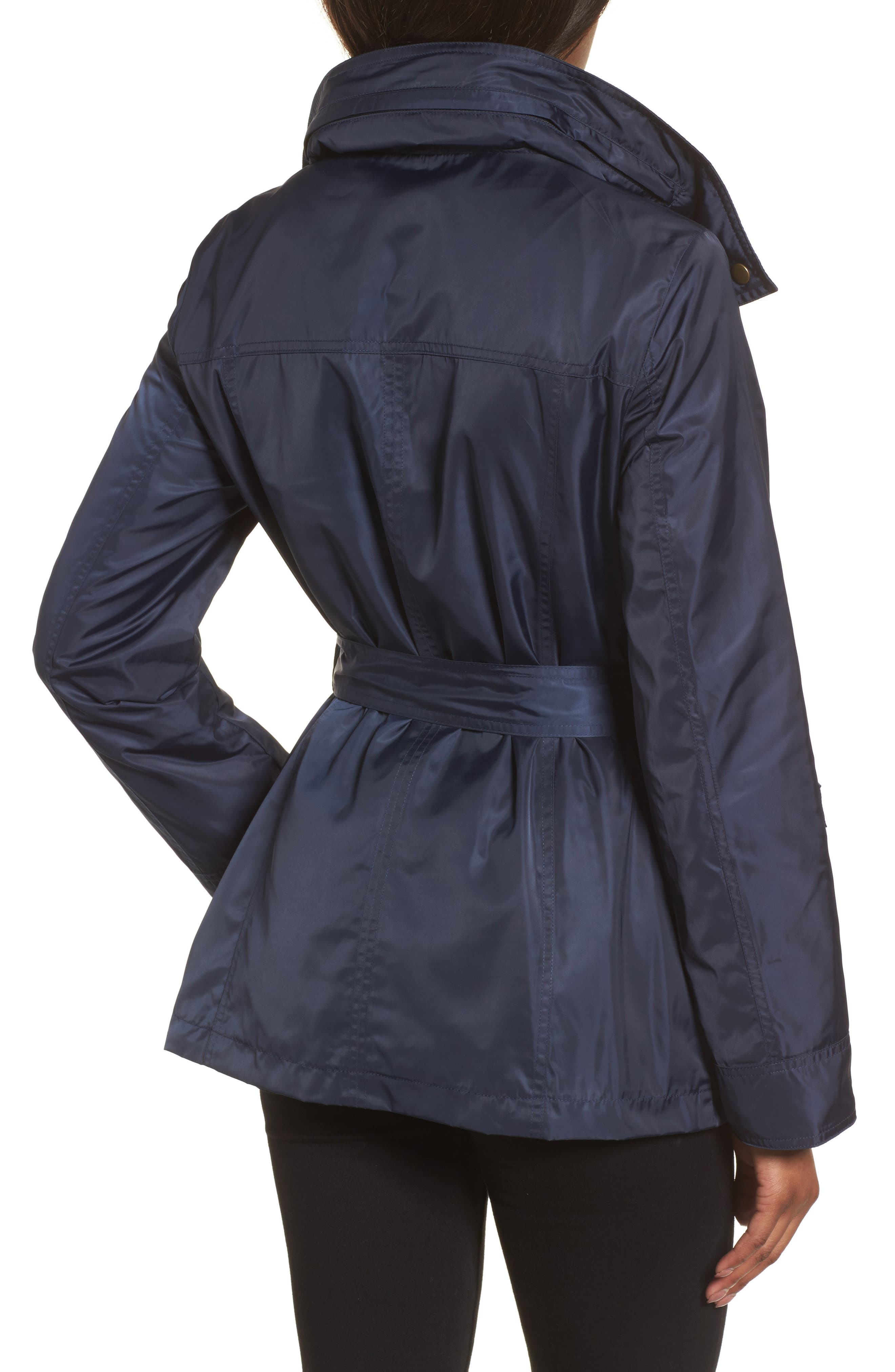 Belted Lightweight Jacket,                             Alternate thumbnail 7, color,