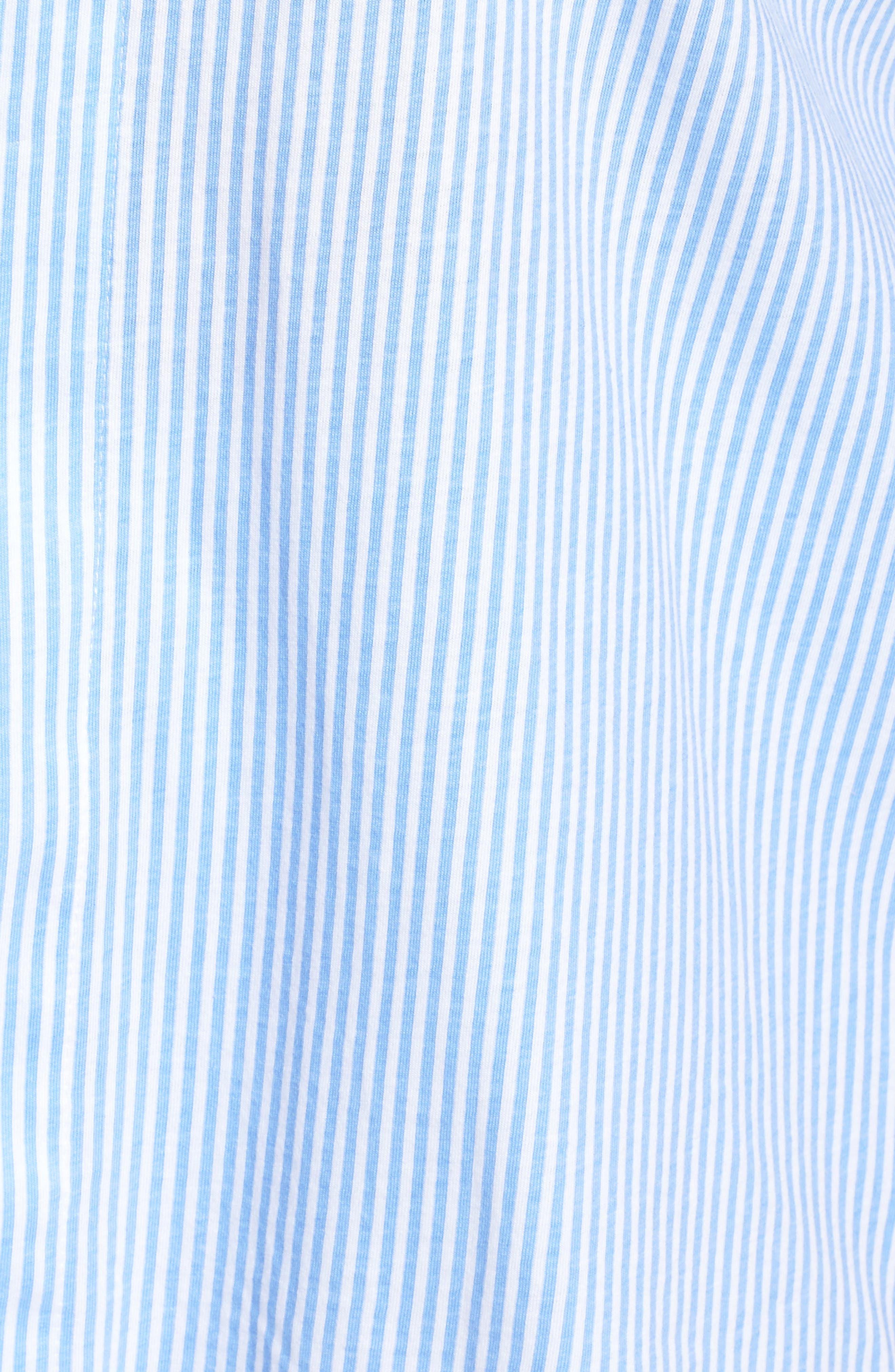 Knit Crop Pajamas,                             Alternate thumbnail 30, color,