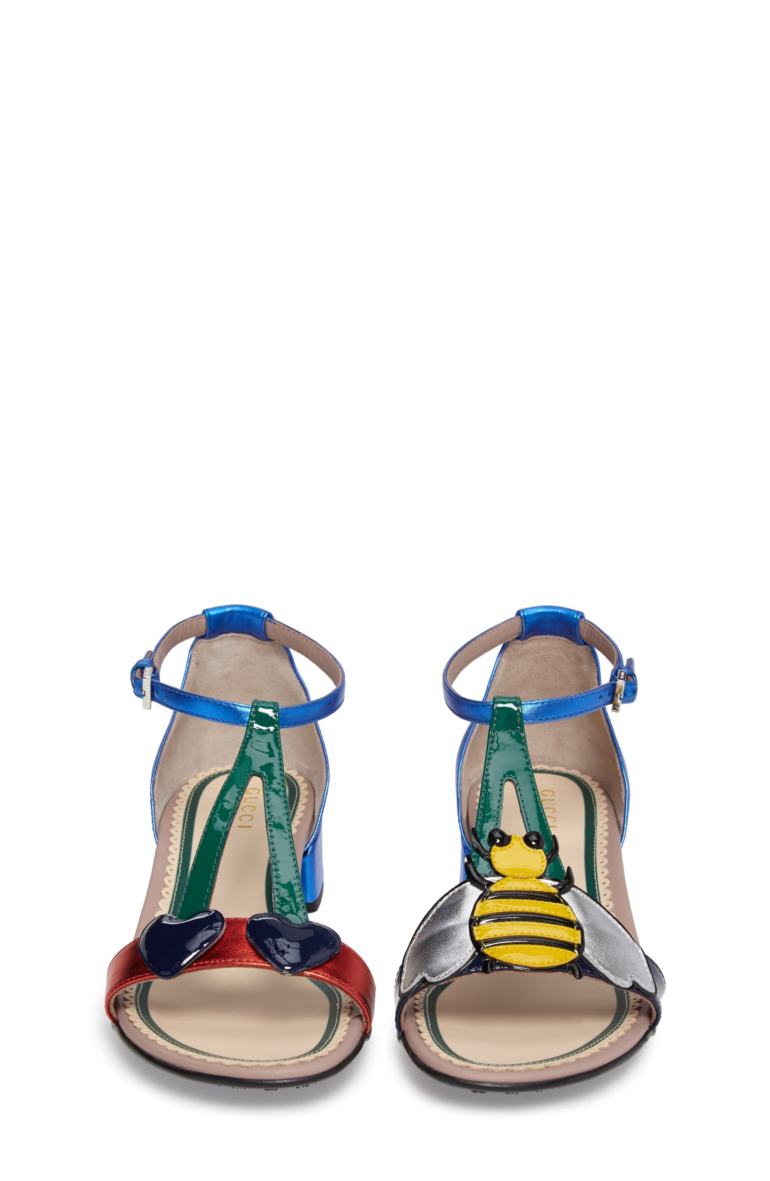Bee & Cherry Sandal,                             Alternate thumbnail 4, color,                             400