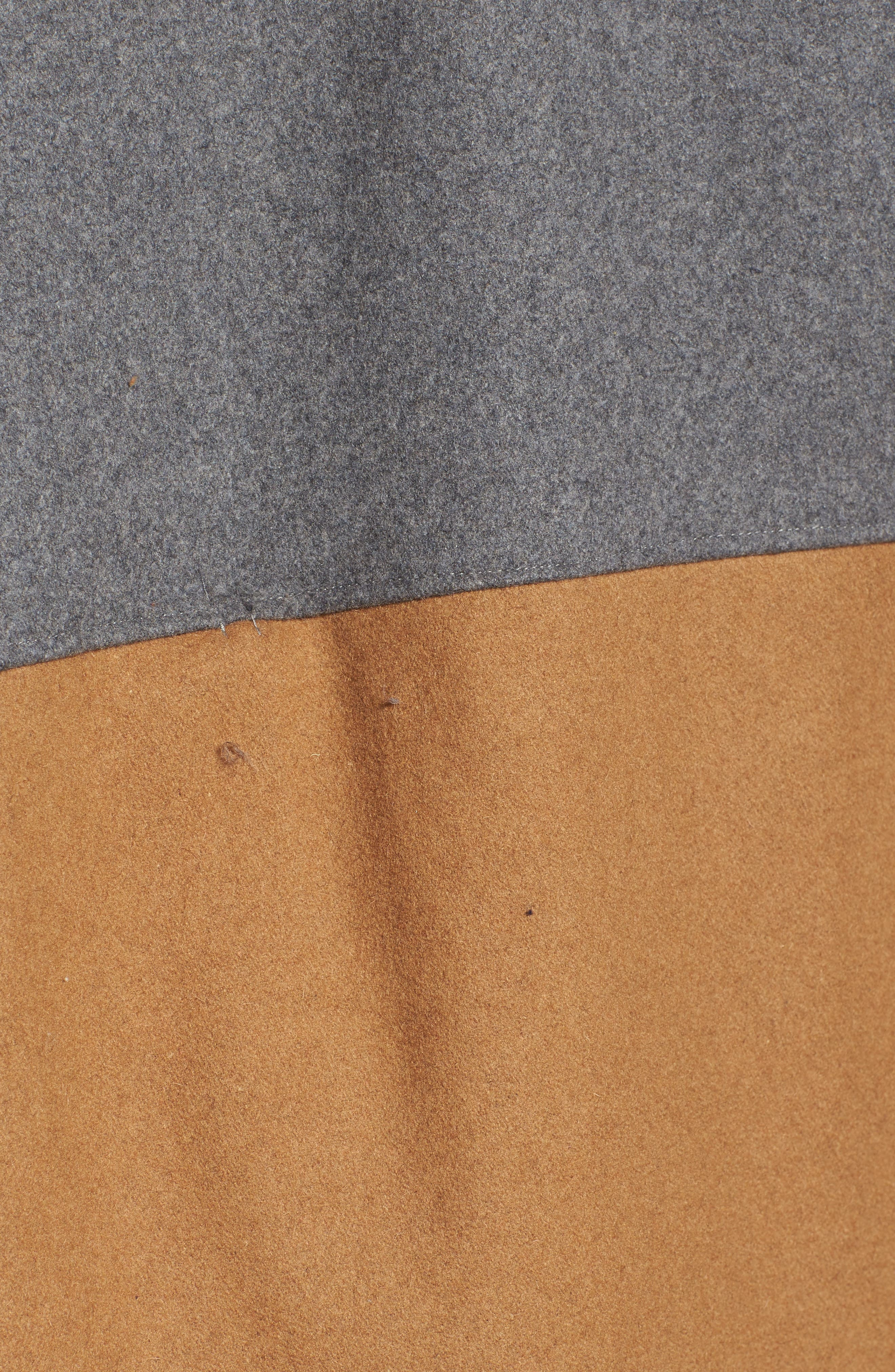 Duo Wonder Wool Cape,                             Alternate thumbnail 5, color,                             020