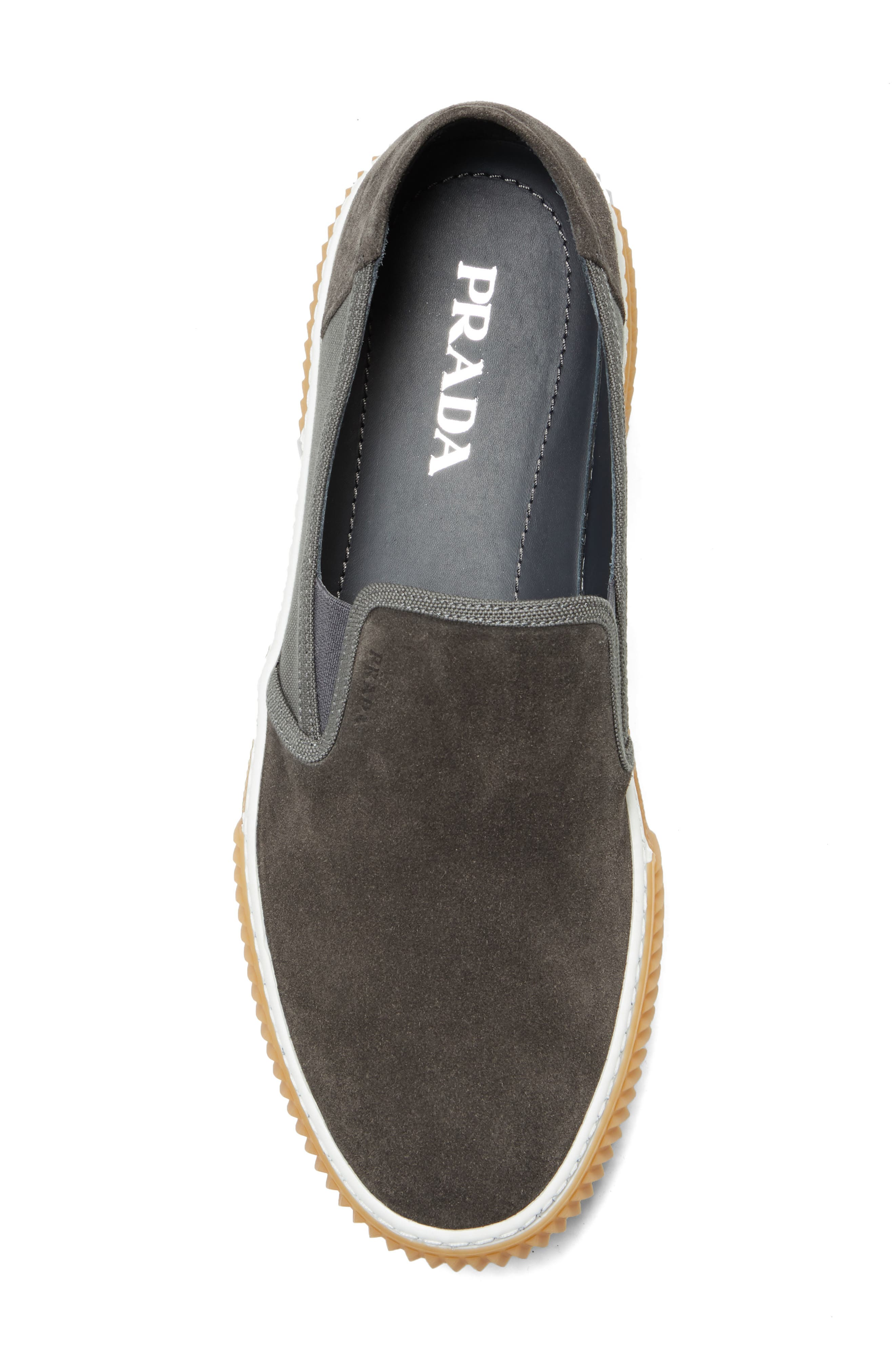 Linea Rossa Slip-On,                             Alternate thumbnail 5, color,                             GREY