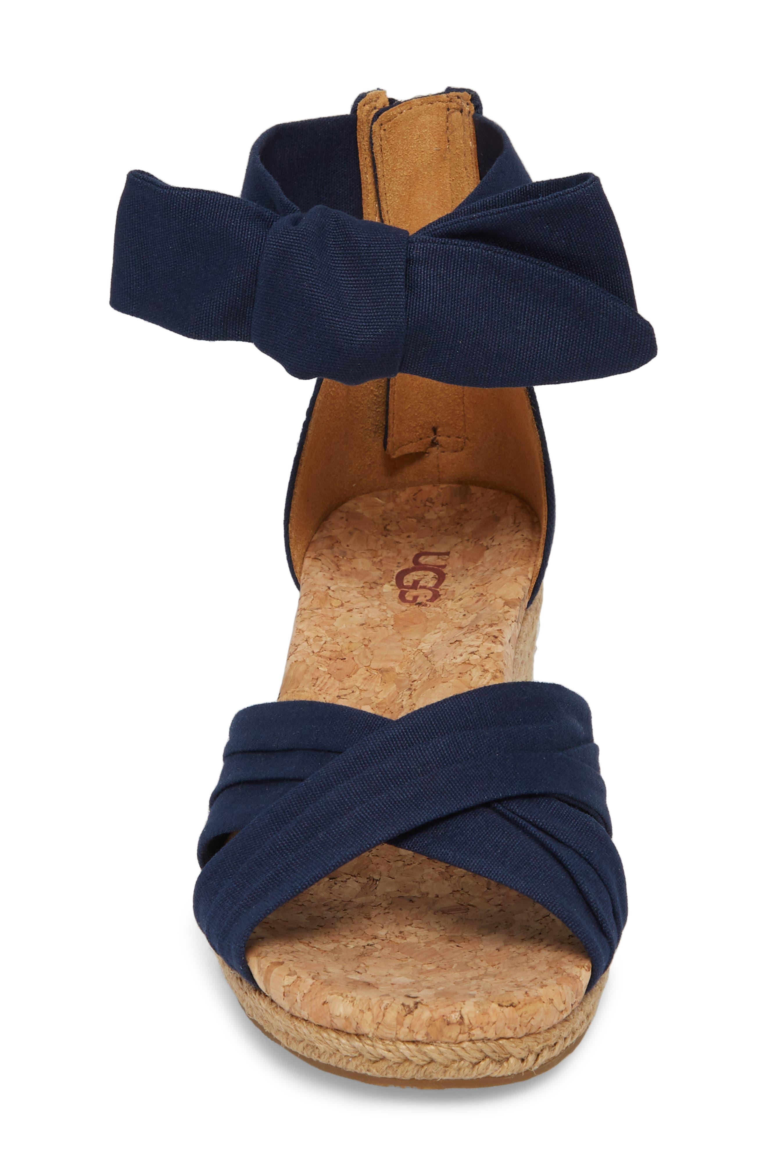 Traci Espadrille Wedge Sandal,                             Alternate thumbnail 12, color,
