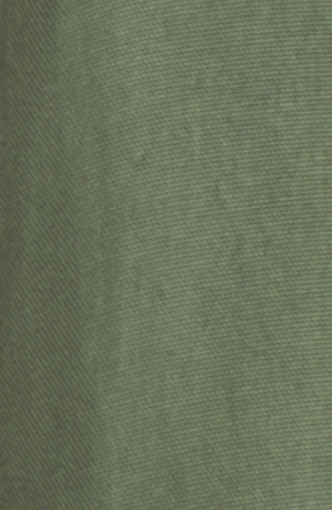 Ruffle Utility Jacket,                             Alternate thumbnail 6, color,                             400