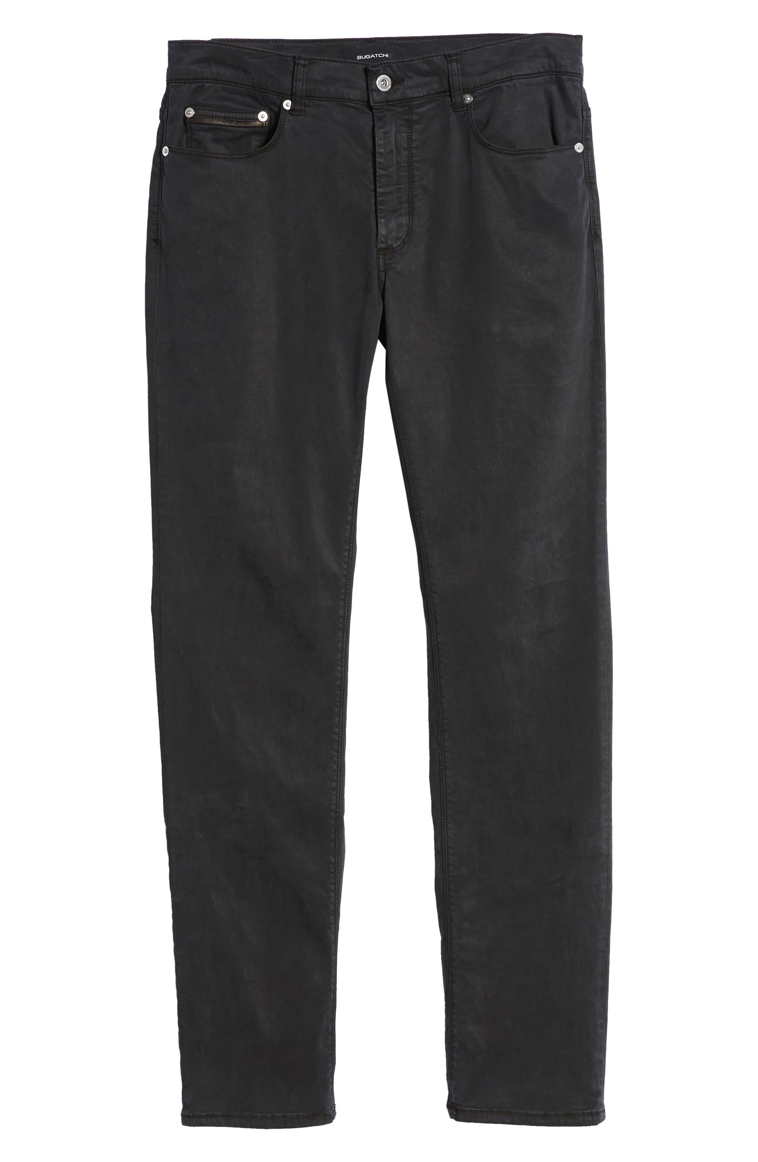 Slim Fit Washed Five-Pocket Pants,                             Alternate thumbnail 21, color,