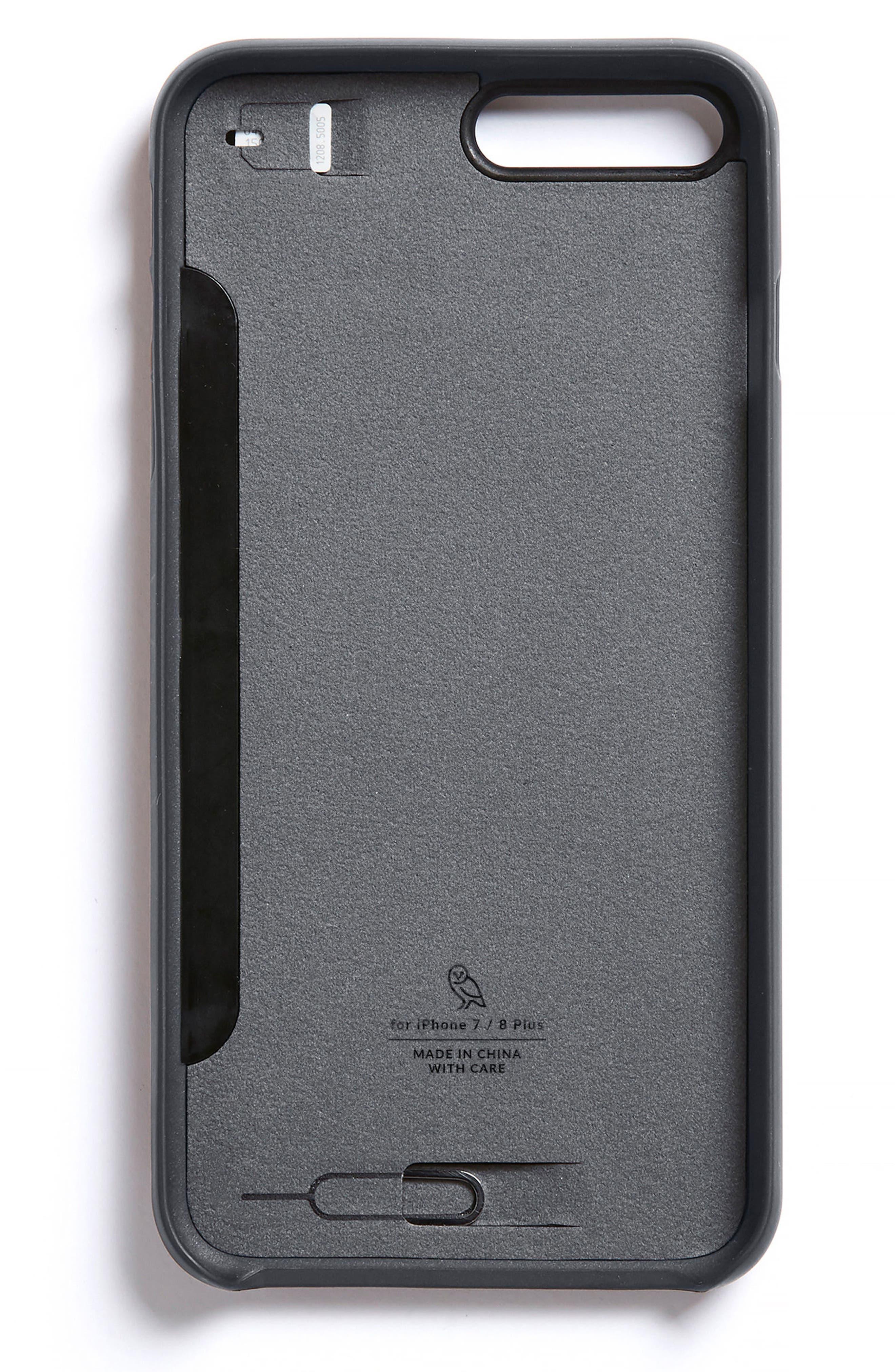 iPhone 7 Plus/8 Plus Case with Card Slots,                             Alternate thumbnail 7, color,
