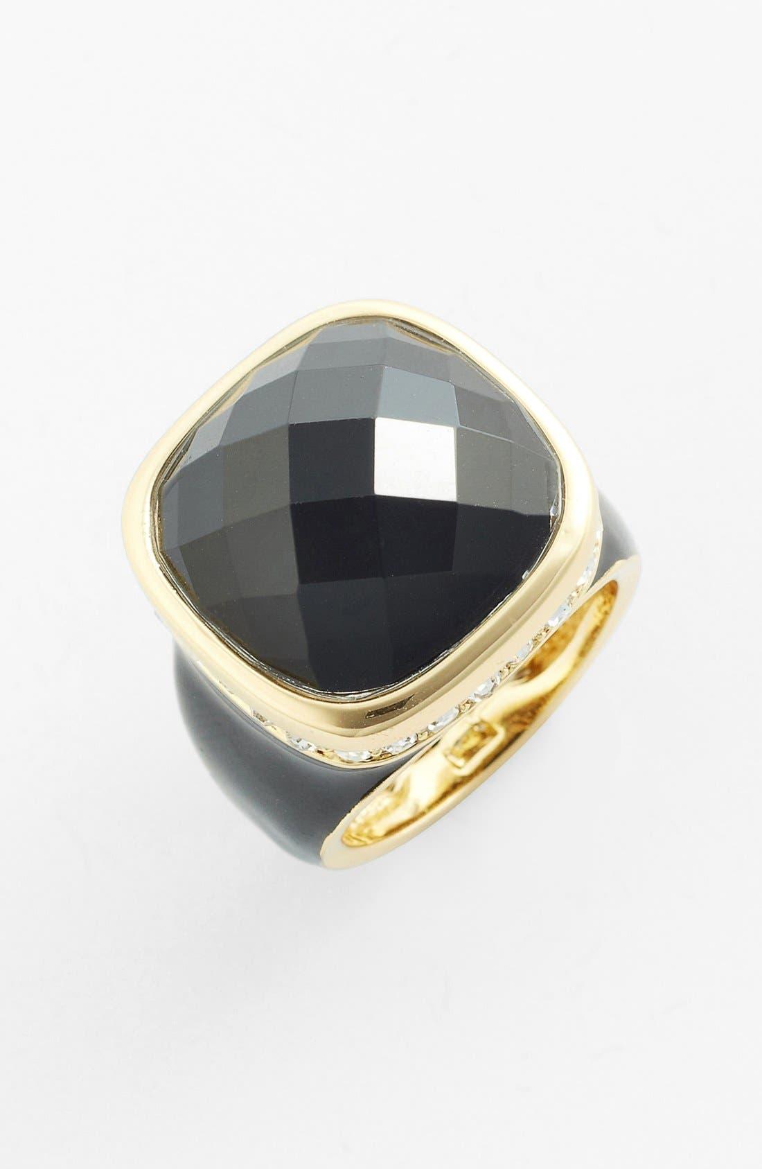 ARIELLA COLLECTION,                             Square Stone Ring,                             Main thumbnail 1, color,                             001