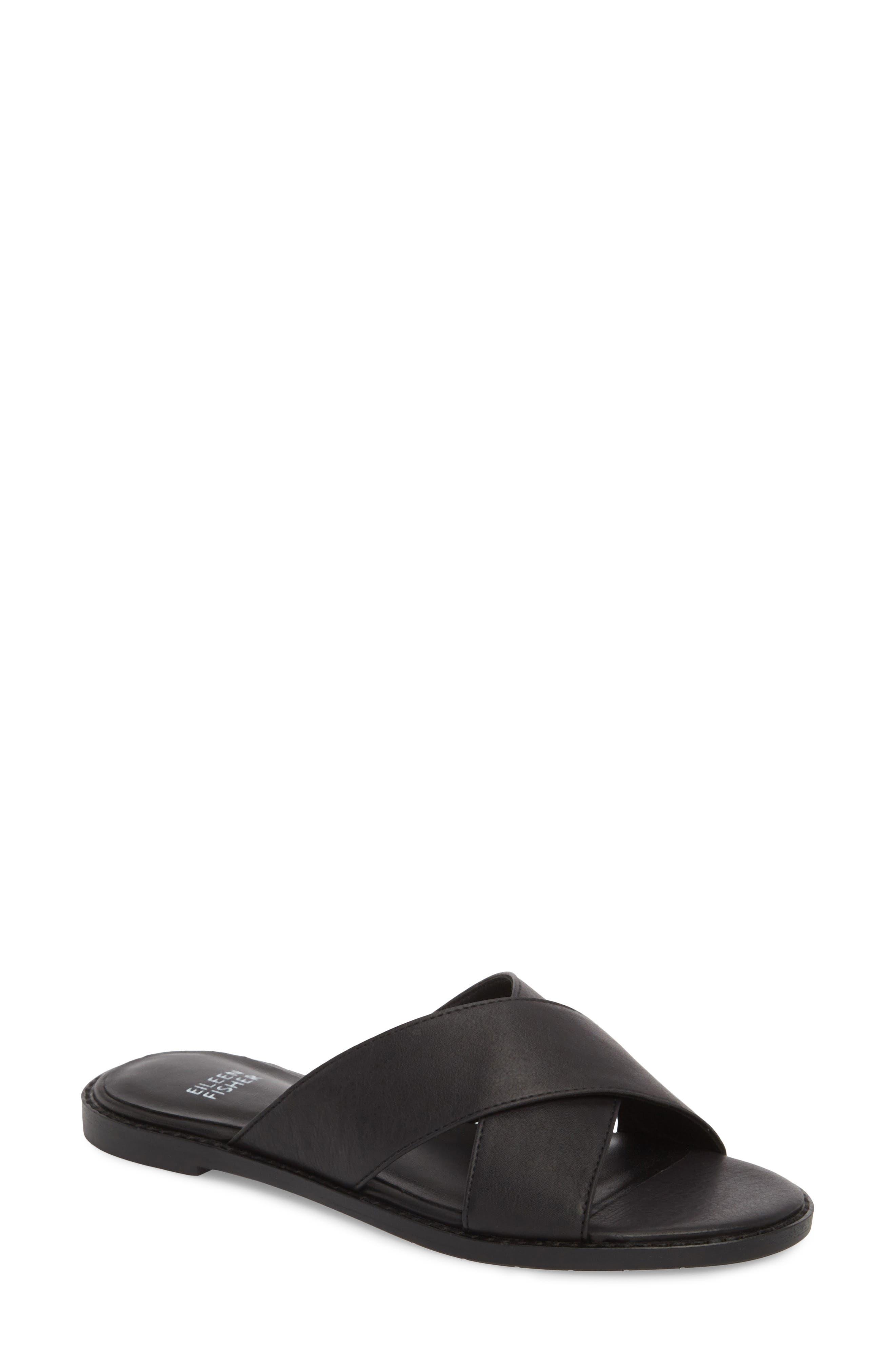 Cape Slide Sandal,                         Main,                         color, 001