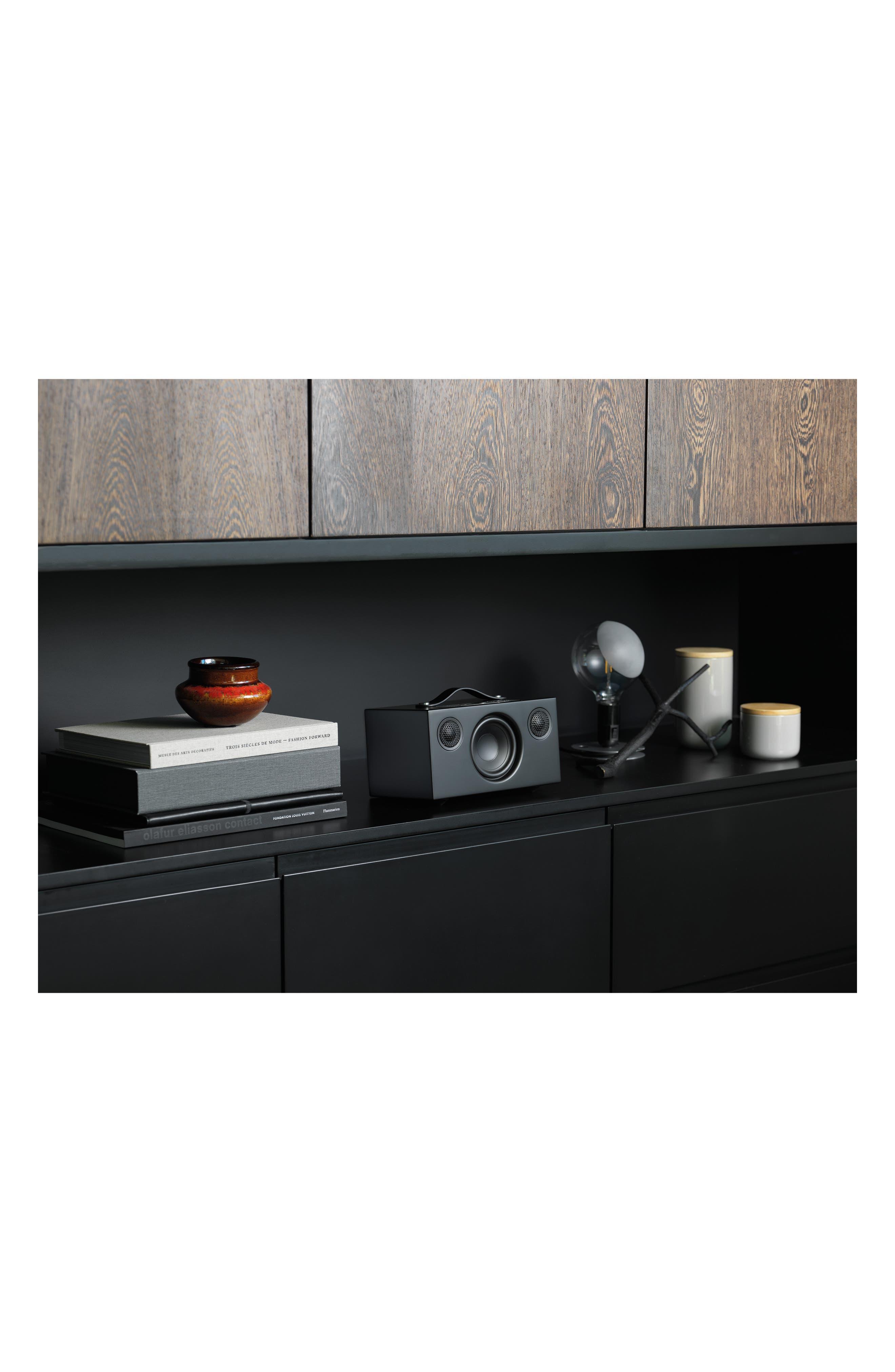 Addon C5 Wi-Fi Multi Room Bluetooth<sup>®</sup> Speaker,                             Alternate thumbnail 8, color,                             COAL BLACK
