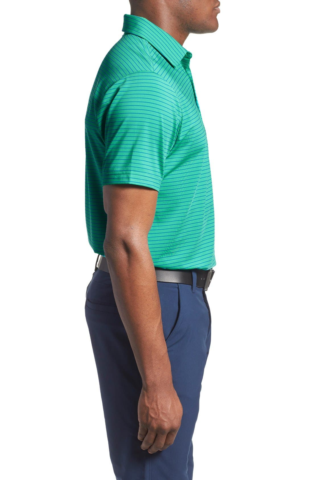 'Playoff' Loose Fit Short Sleeve Polo,                             Alternate thumbnail 81, color,