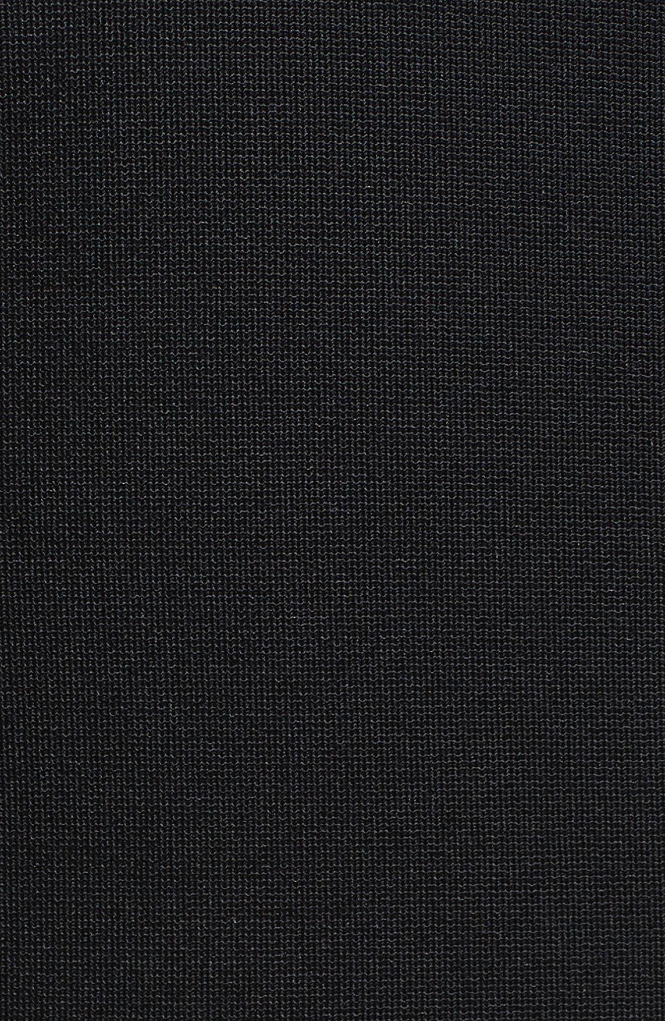 Valentina Scuba Knit A-Line Dress,                             Alternate thumbnail 9, color,
