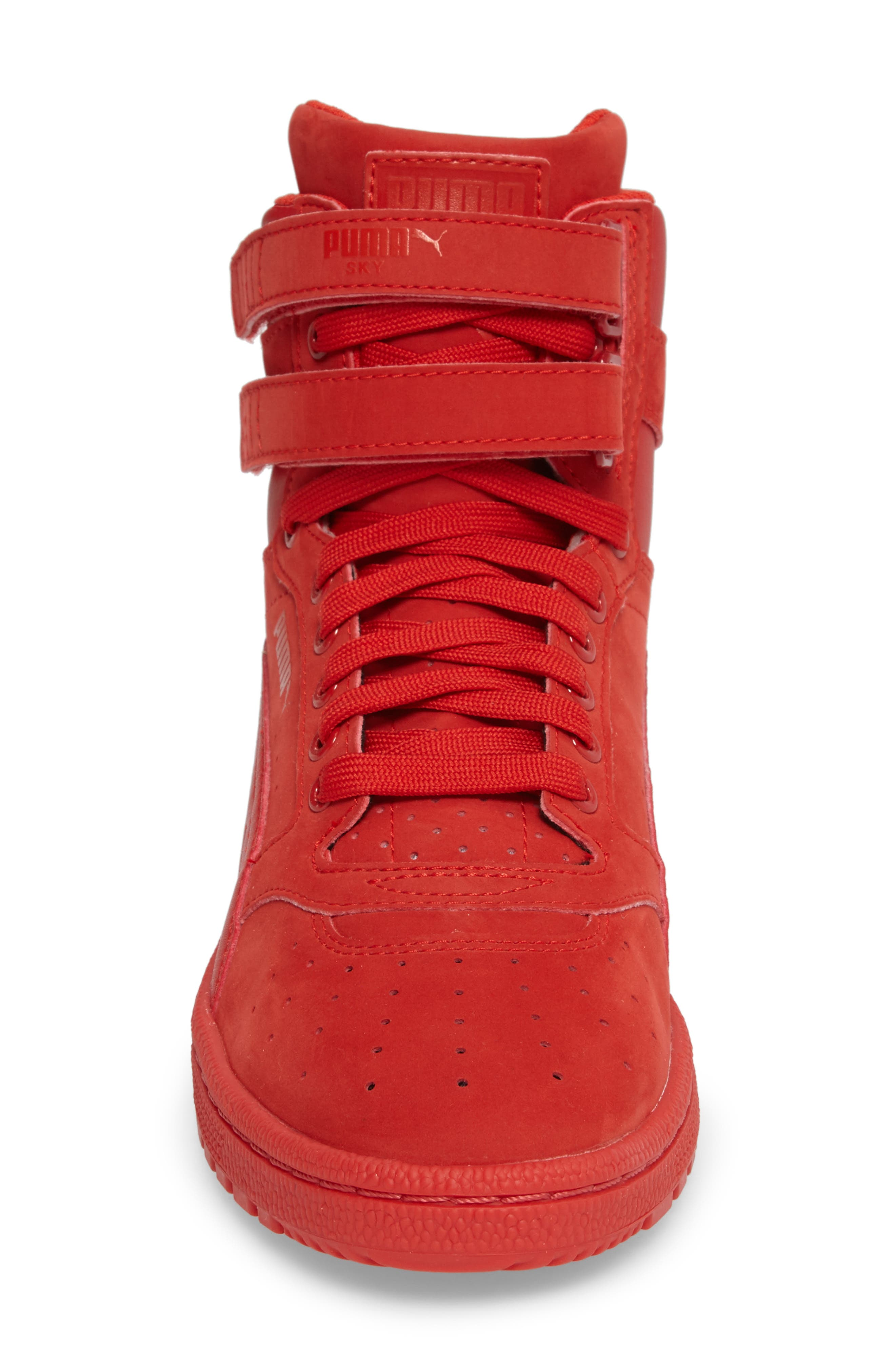 Ski II High Top Sneaker,                             Alternate thumbnail 8, color,