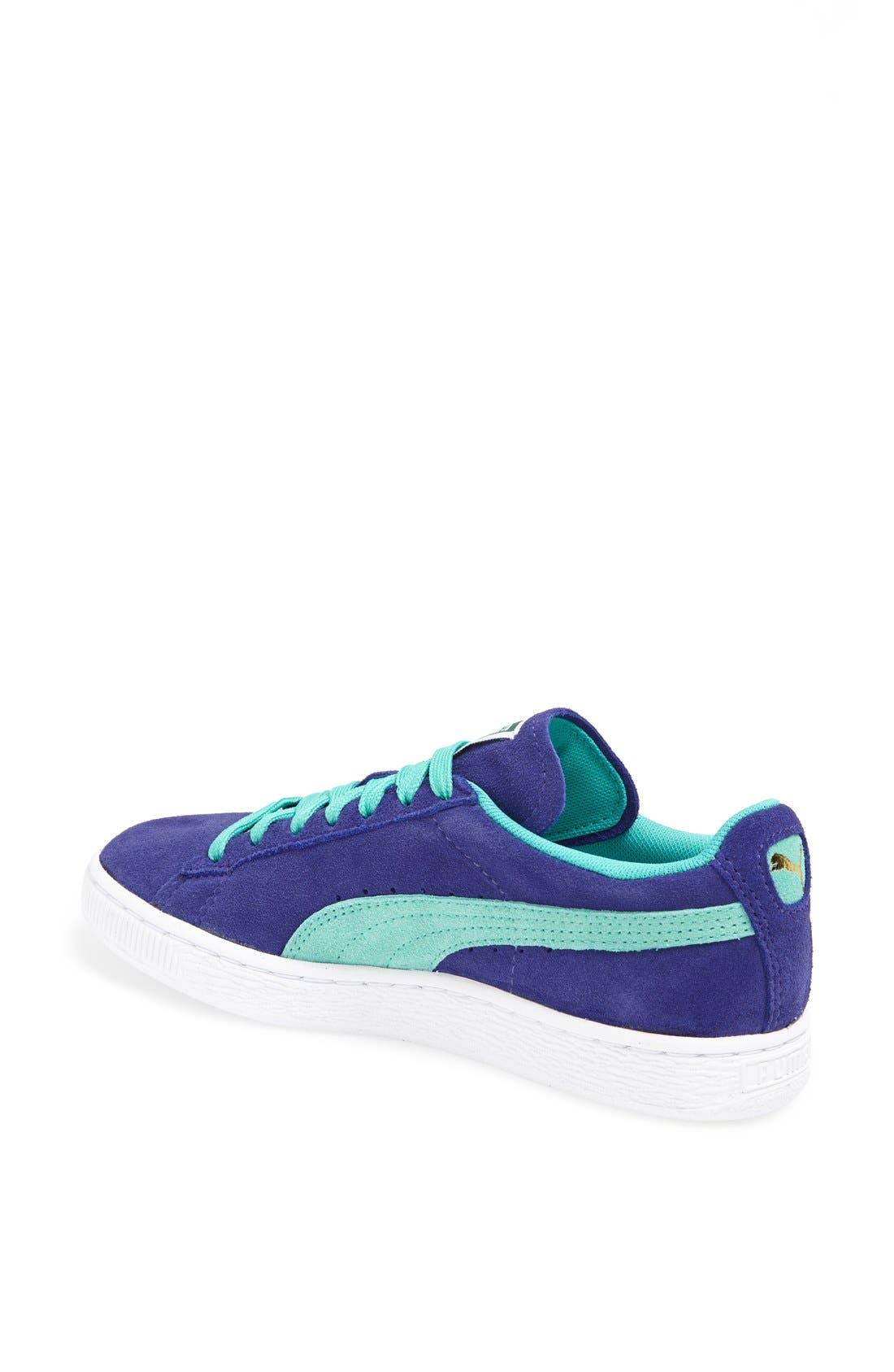 Suede Sneaker,                             Alternate thumbnail 70, color,