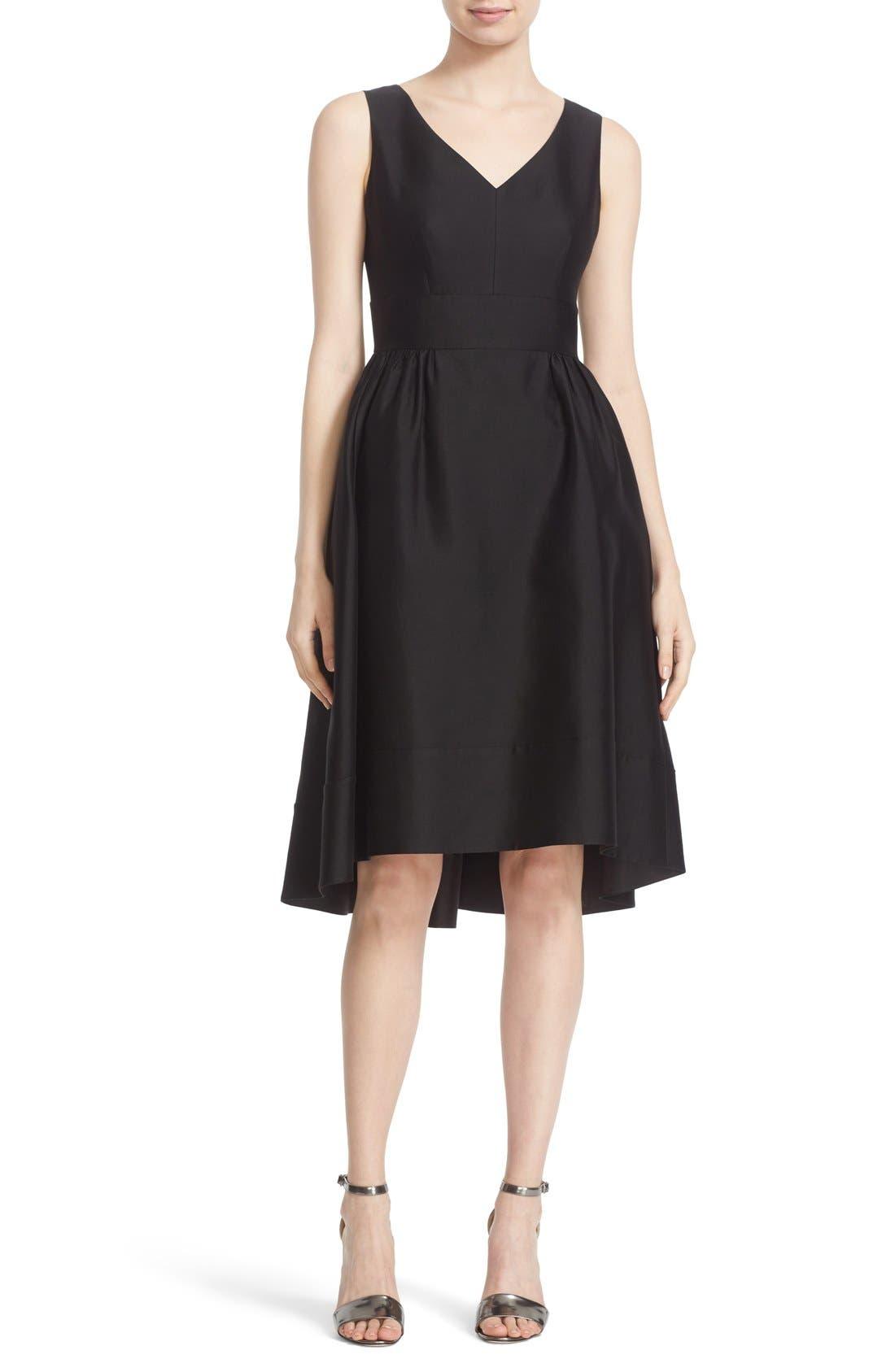 'heritage' sleeveless fit & flare dress,                             Main thumbnail 1, color,                             001