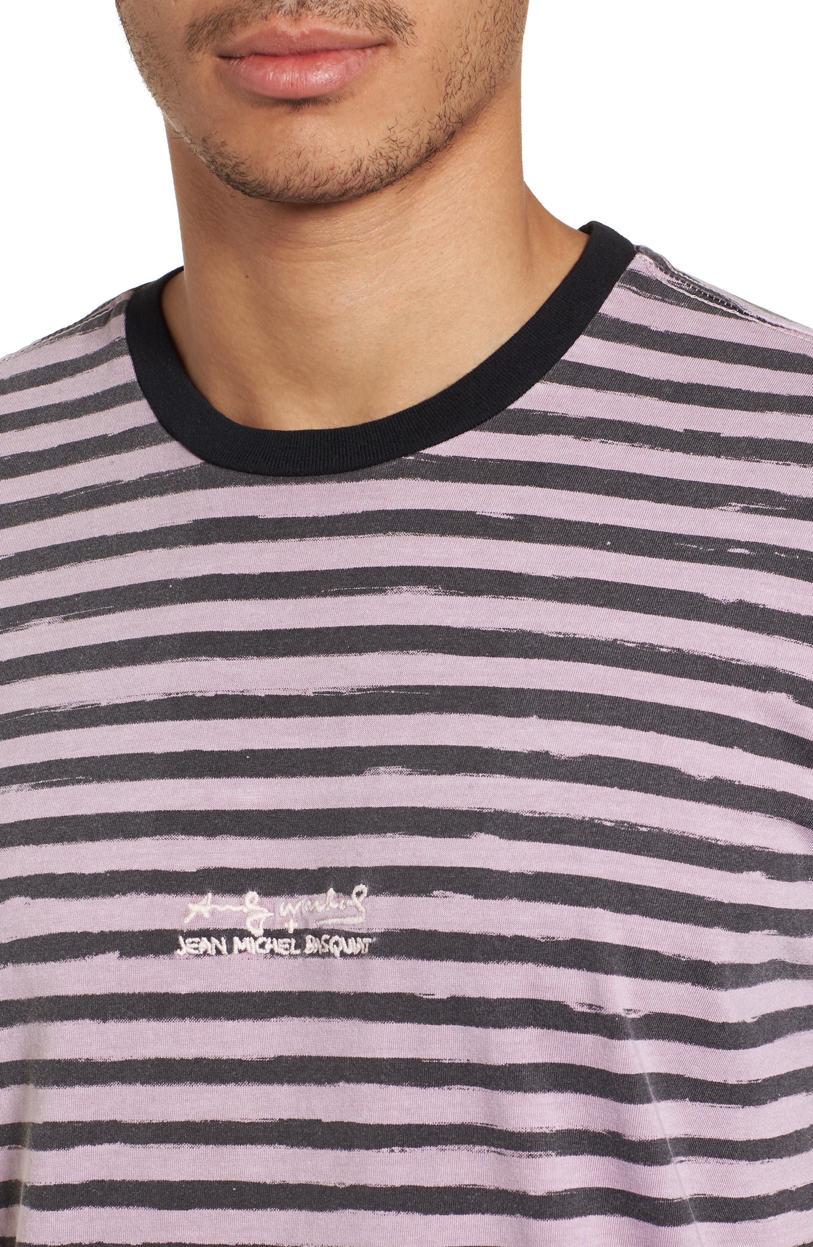 x Warhol Epi T-Shirt,                             Alternate thumbnail 4, color,