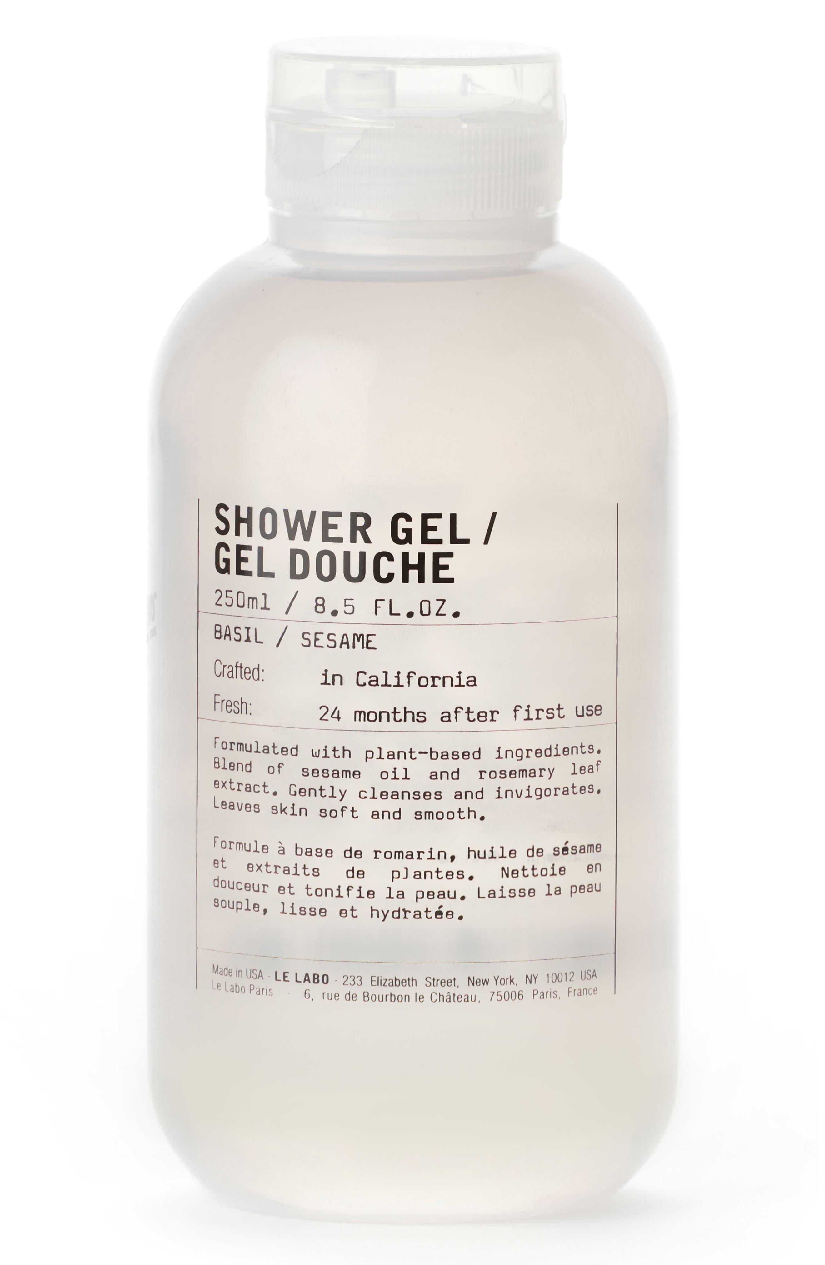 Shower Gel Basil,                             Main thumbnail 1, color,                             NO COLOR