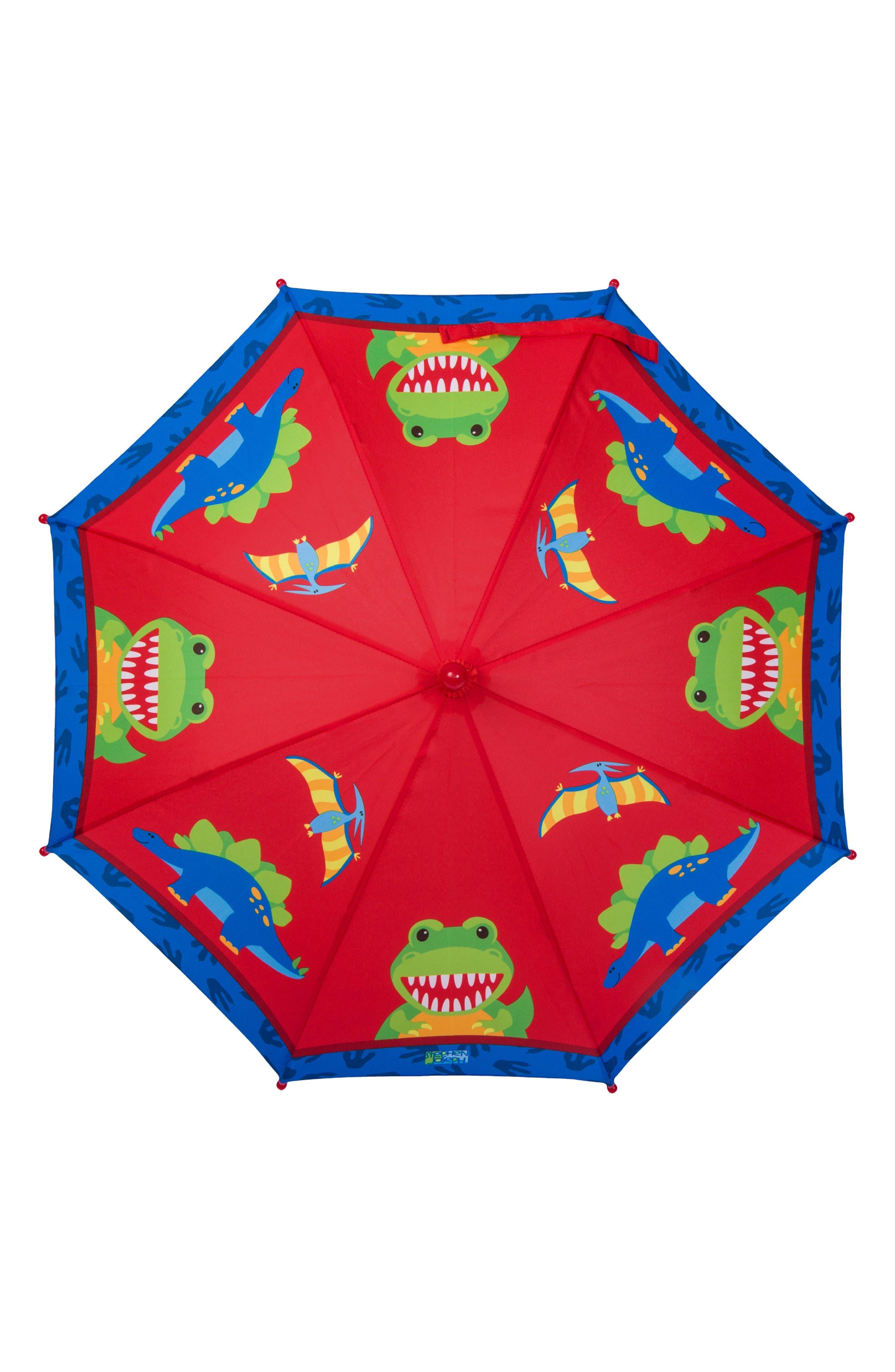 Dinosaur Truck Rain Boots & Umbrella Set,                             Alternate thumbnail 2, color,                             600