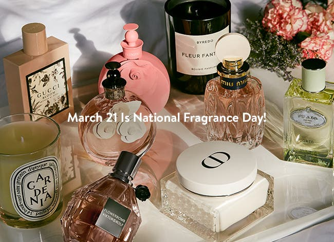 March 21 is National Fragrance Day.