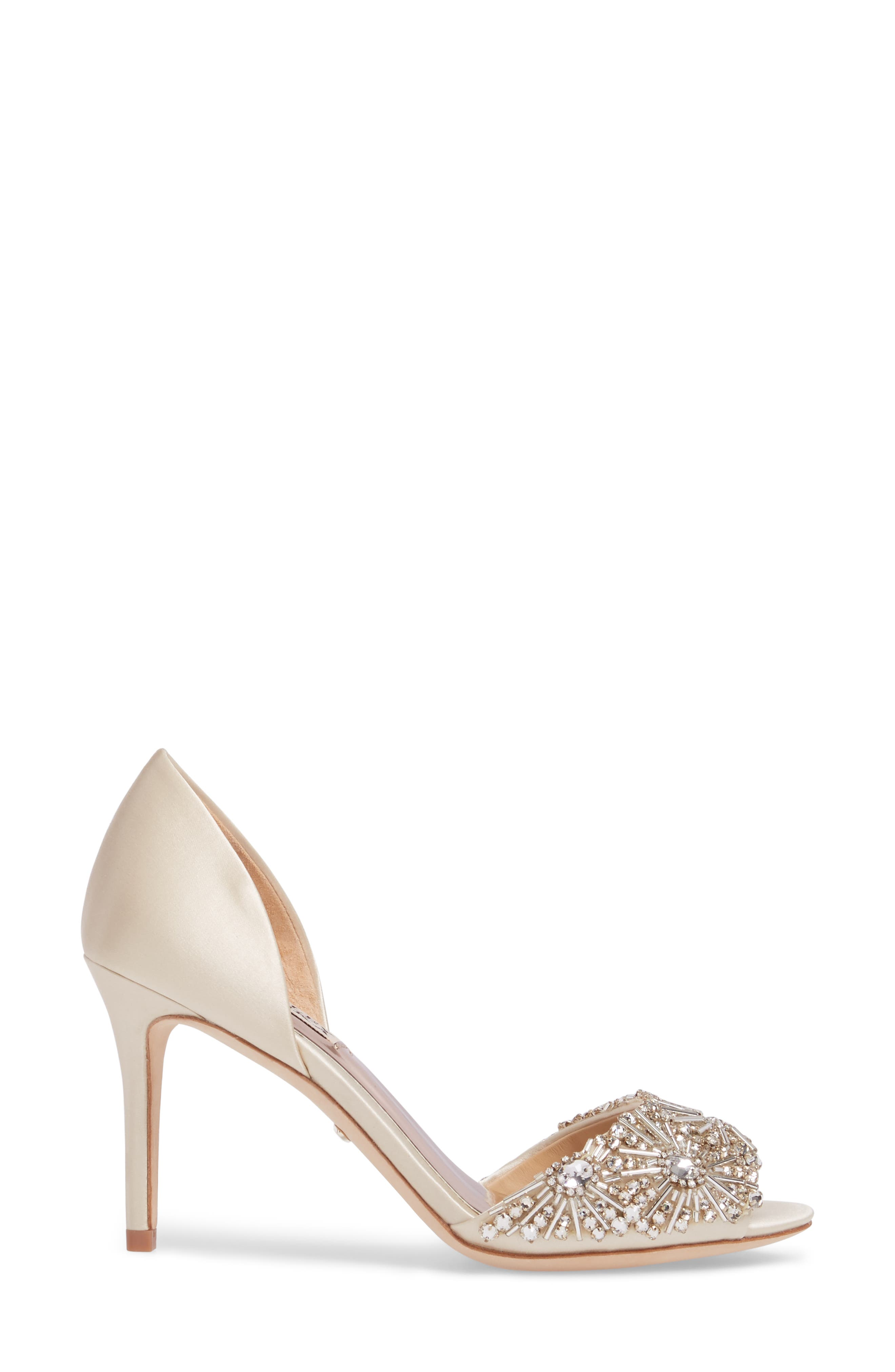 Maria Embellished d'Orsay Pump,                             Alternate thumbnail 18, color,